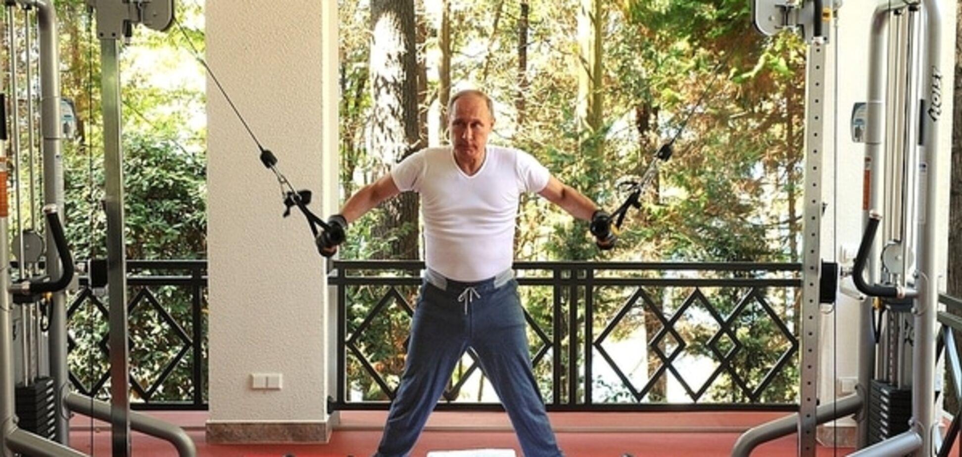 'Что за кроссы у старшего?' Тимати наметил глаз на обувь Путина