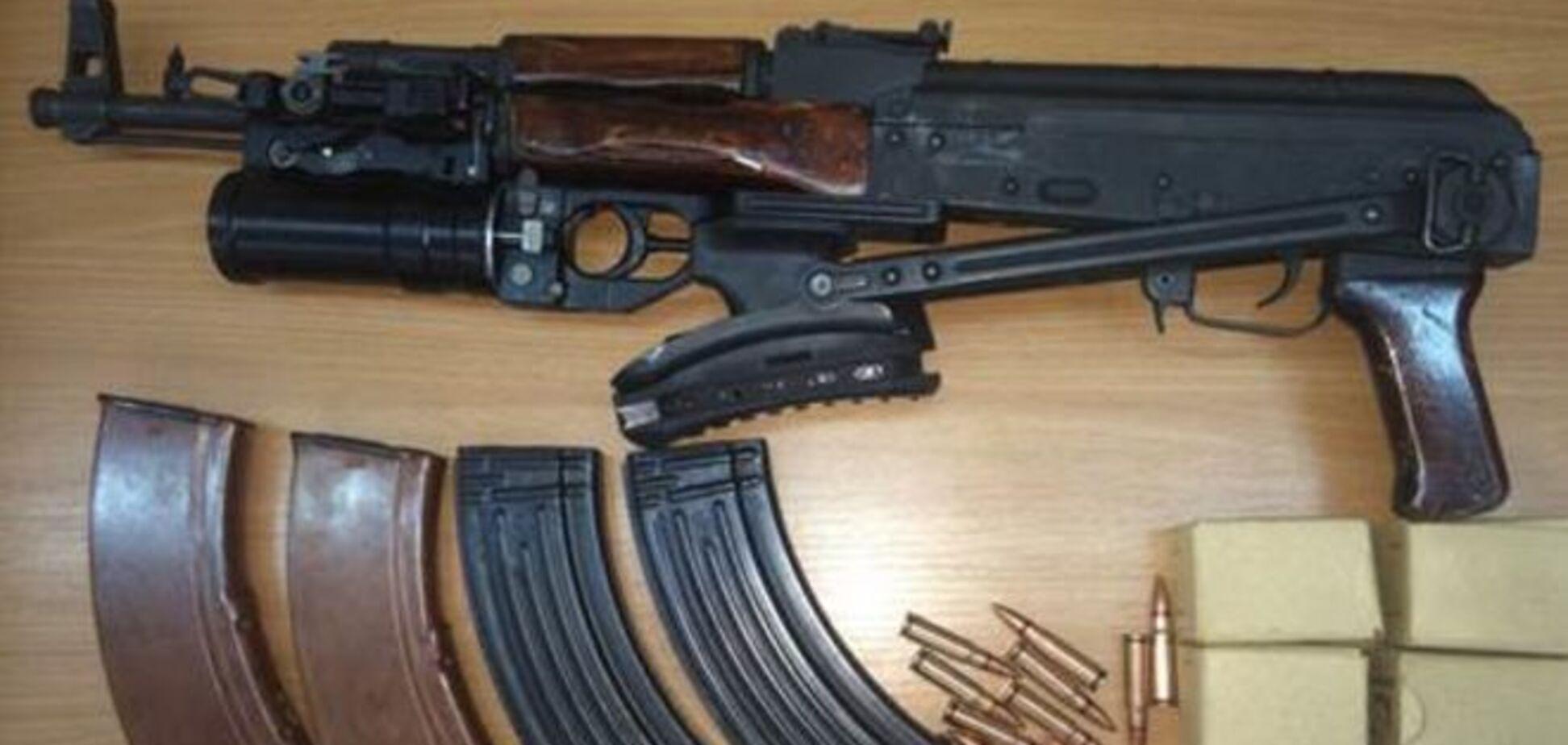 СБУ обезвредила группу 'харьковских партизан' с арсеналом оружия