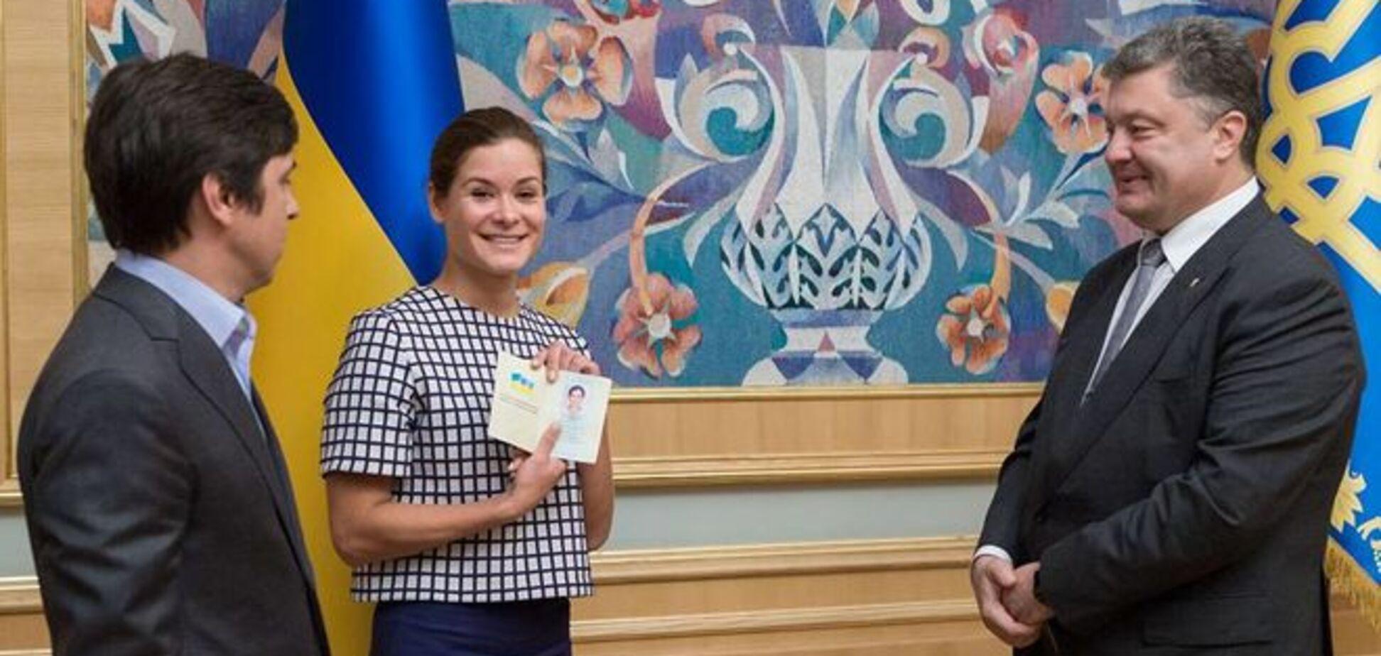 Порошенко предоставил Гайдар украинское гражданство