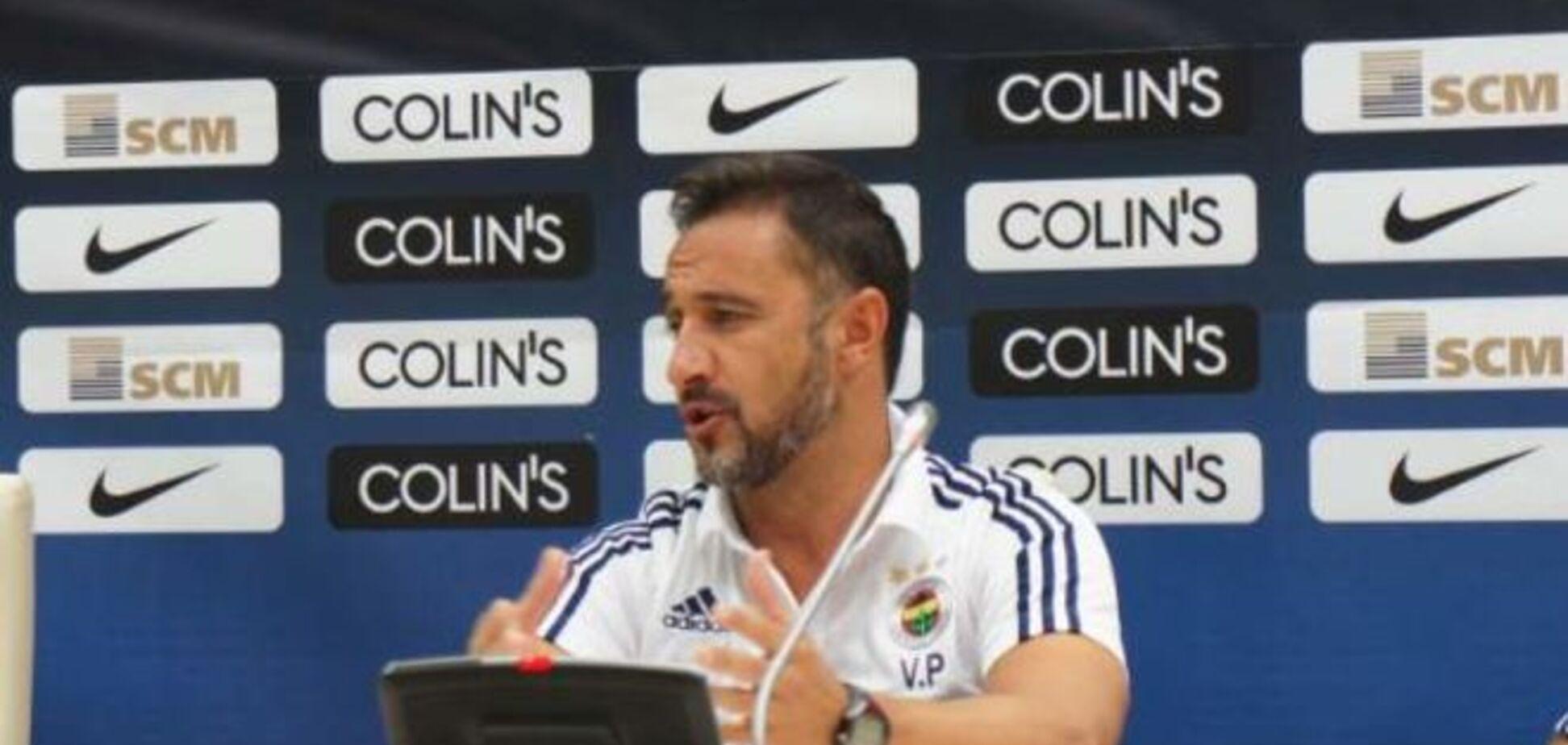 Тренер 'Фенербахче' рассмешил журналистов перед игрой с 'Шахтером'