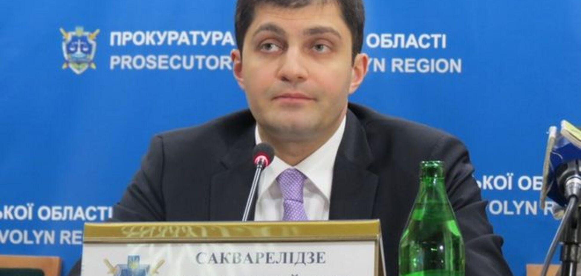 Справа Кернеса: Сакварелідзе пообіцяв зарубати на корню спроби 'розхитати' Харків