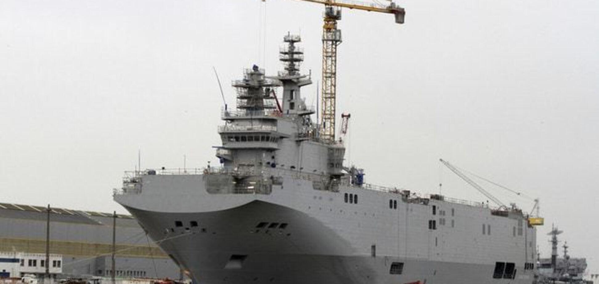 Франция и Россия расторгли контракт по 'Мистралям'
