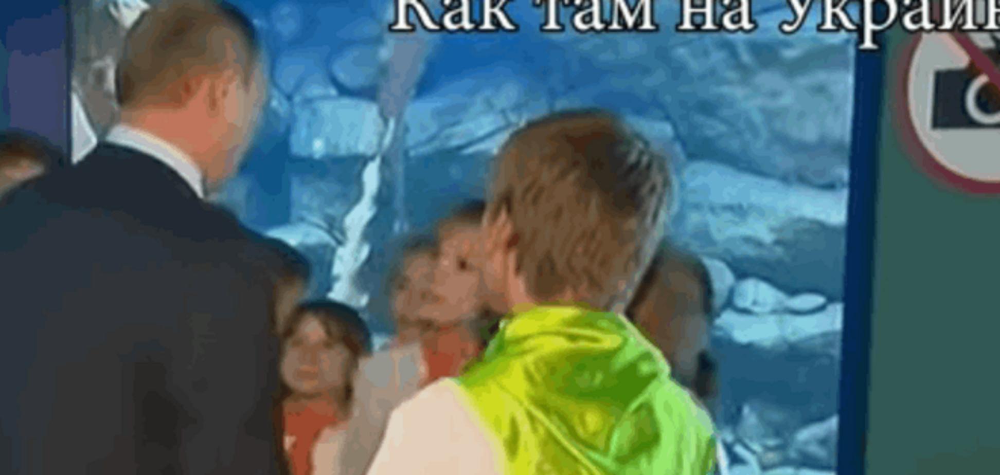#Четамухохлов: з'явилося відео, як російські школярі 'тролять' Путіна Українлю