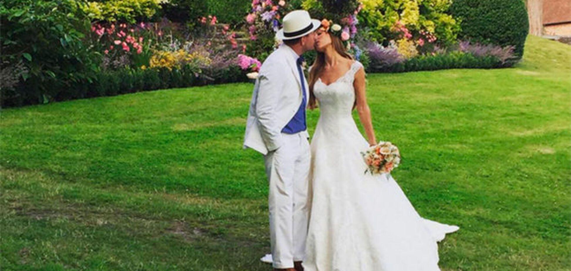 В сети появились трогательные фото со свадьбы Гая Ричи
