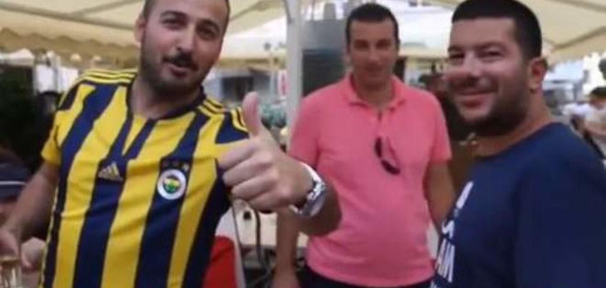 'F*ck Putin! F*ck Russia!': Турки підтримали Україну перед матчем із 'Шахтарем'