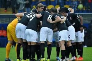 'Заря' разгромно прошла в следующий этап Лиги Европы