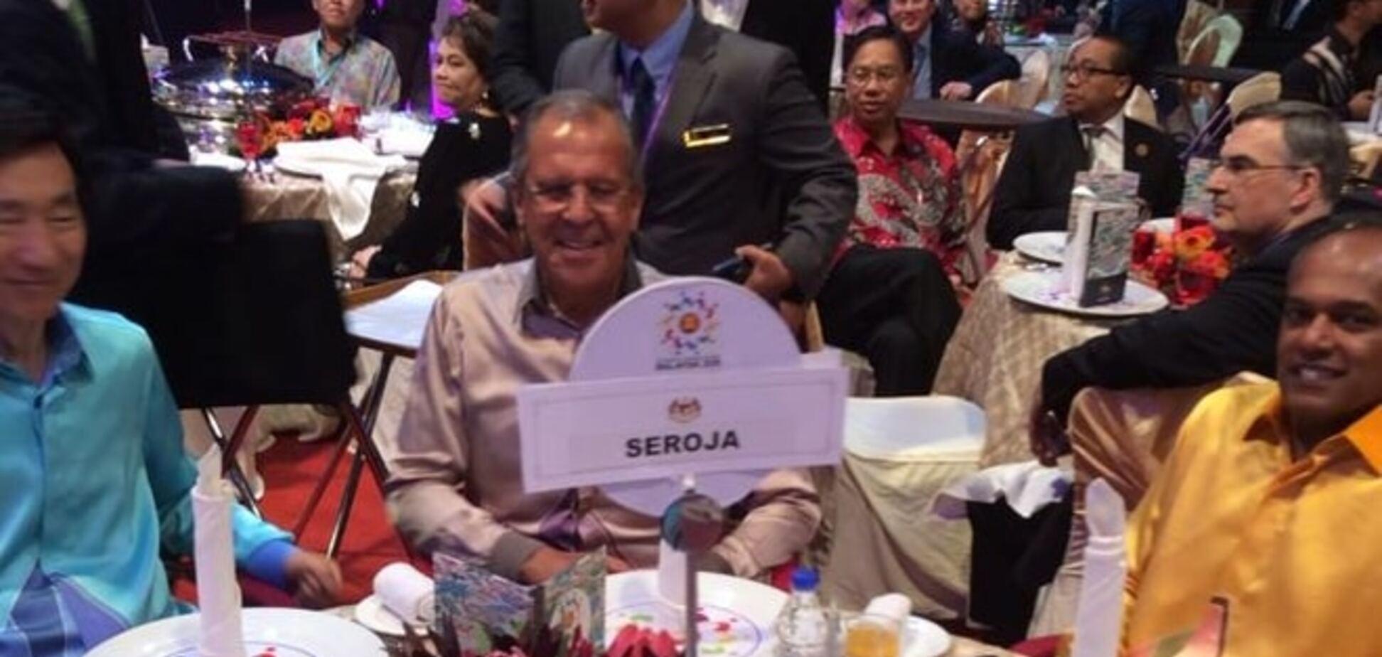 'Серожа'. В Малайзии ярко потроллили Лаврова: опубликованы фото