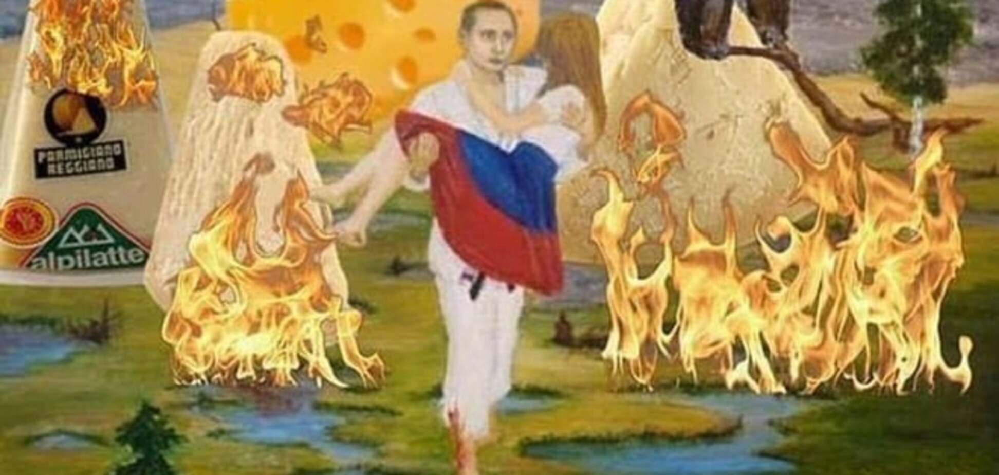 Росія, запалюй! Світовий Twitter підірвав хештег # РоссіяЖжет