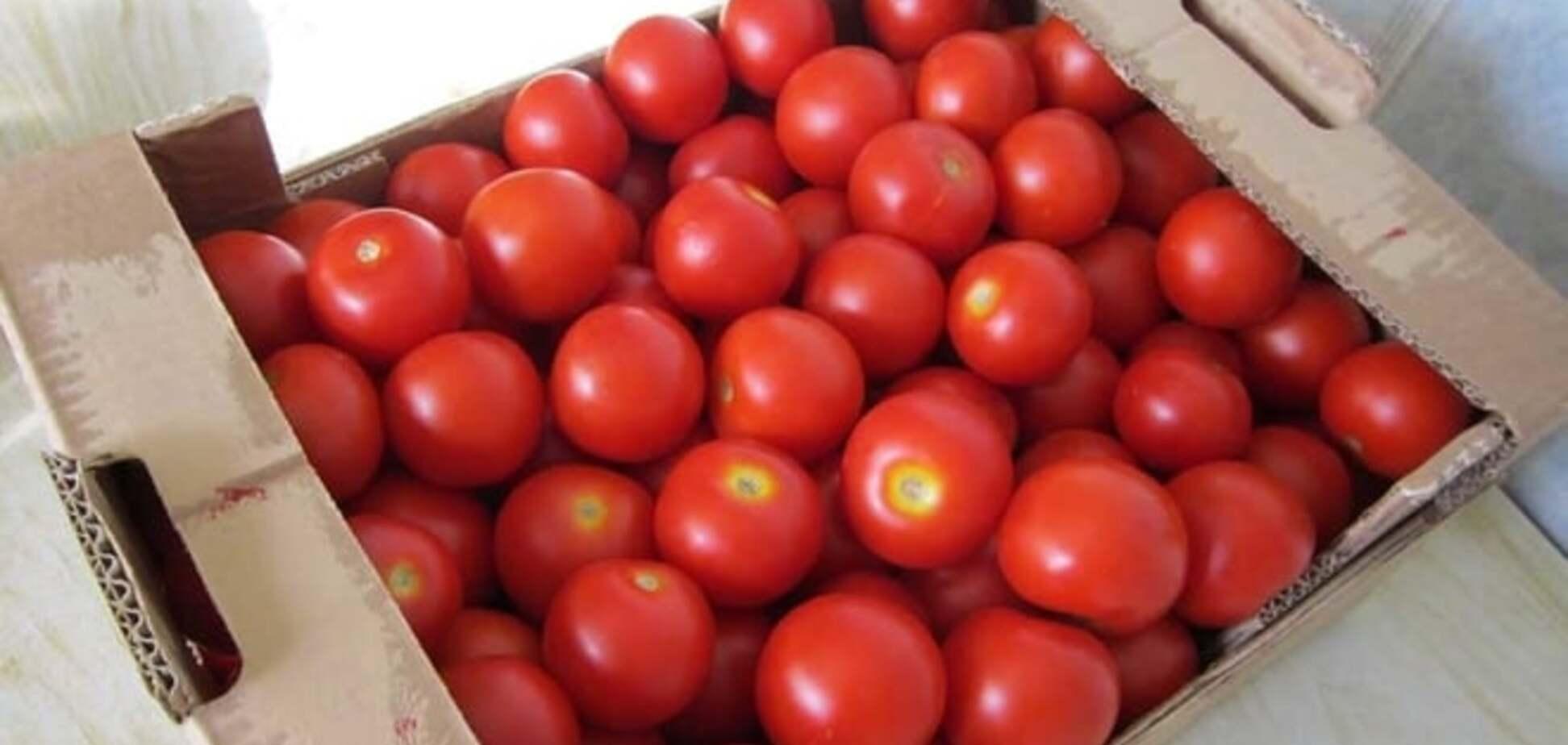 Не съем, так понадкусываю: в России водитель угнал фургон с 1,5 т санкционных помидоров