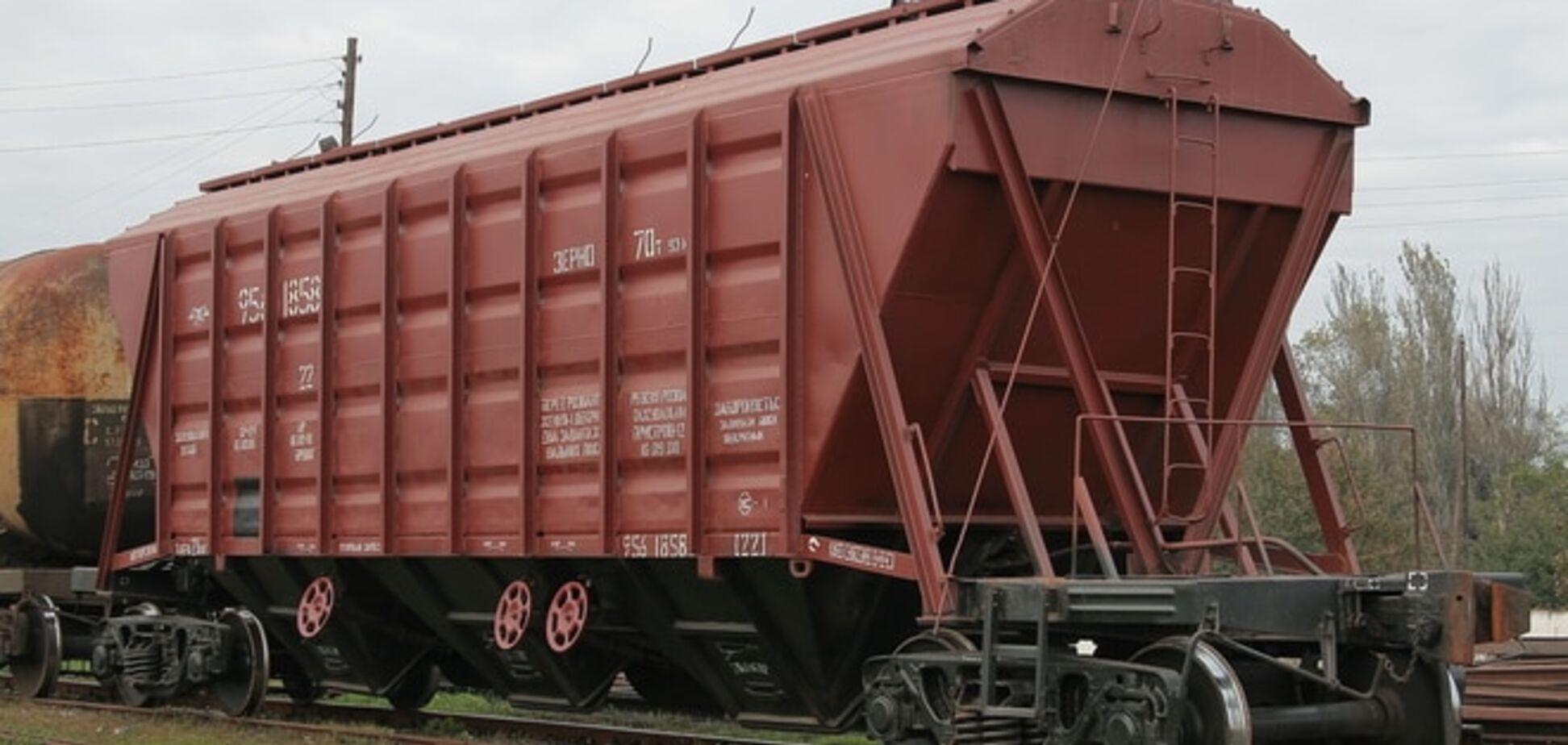 По железной дороге Донбасса год курсирует вагон с гниющими останками животных