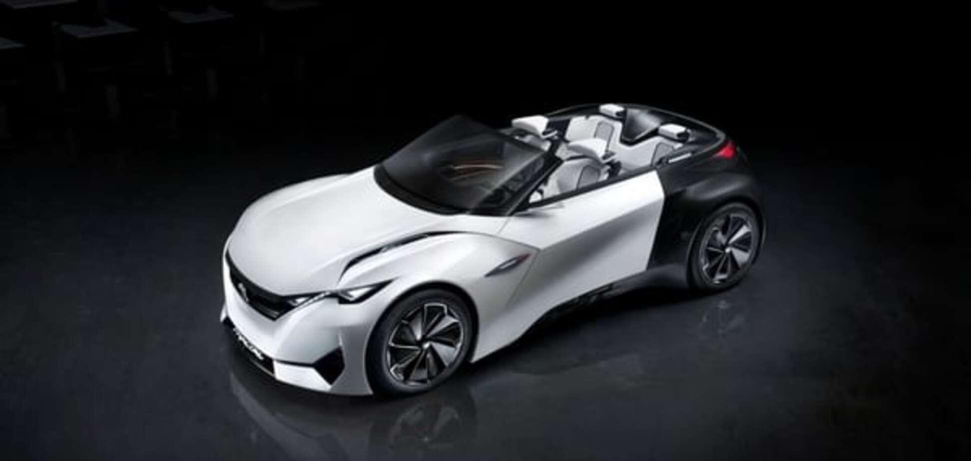 'Снесло крышу': Peugeot представил открытый концепт-кар