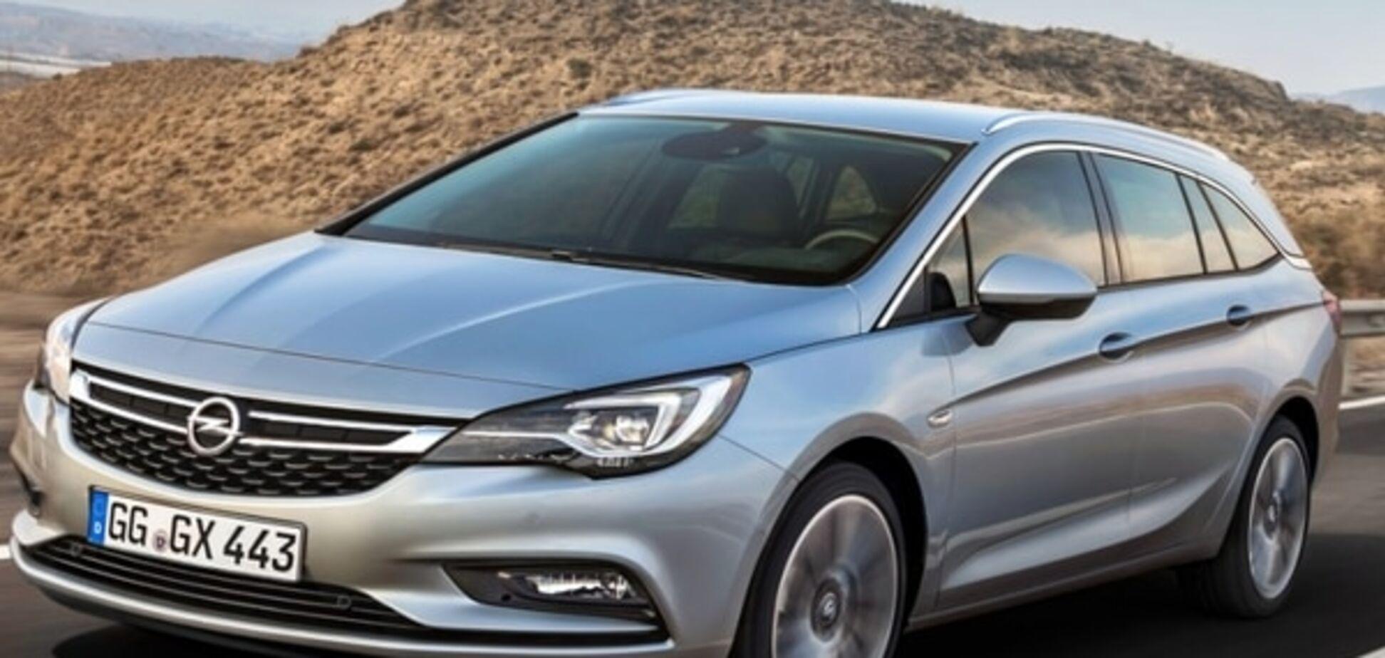Opel показал красивый универсал Astra Sports Tourer: фото модели