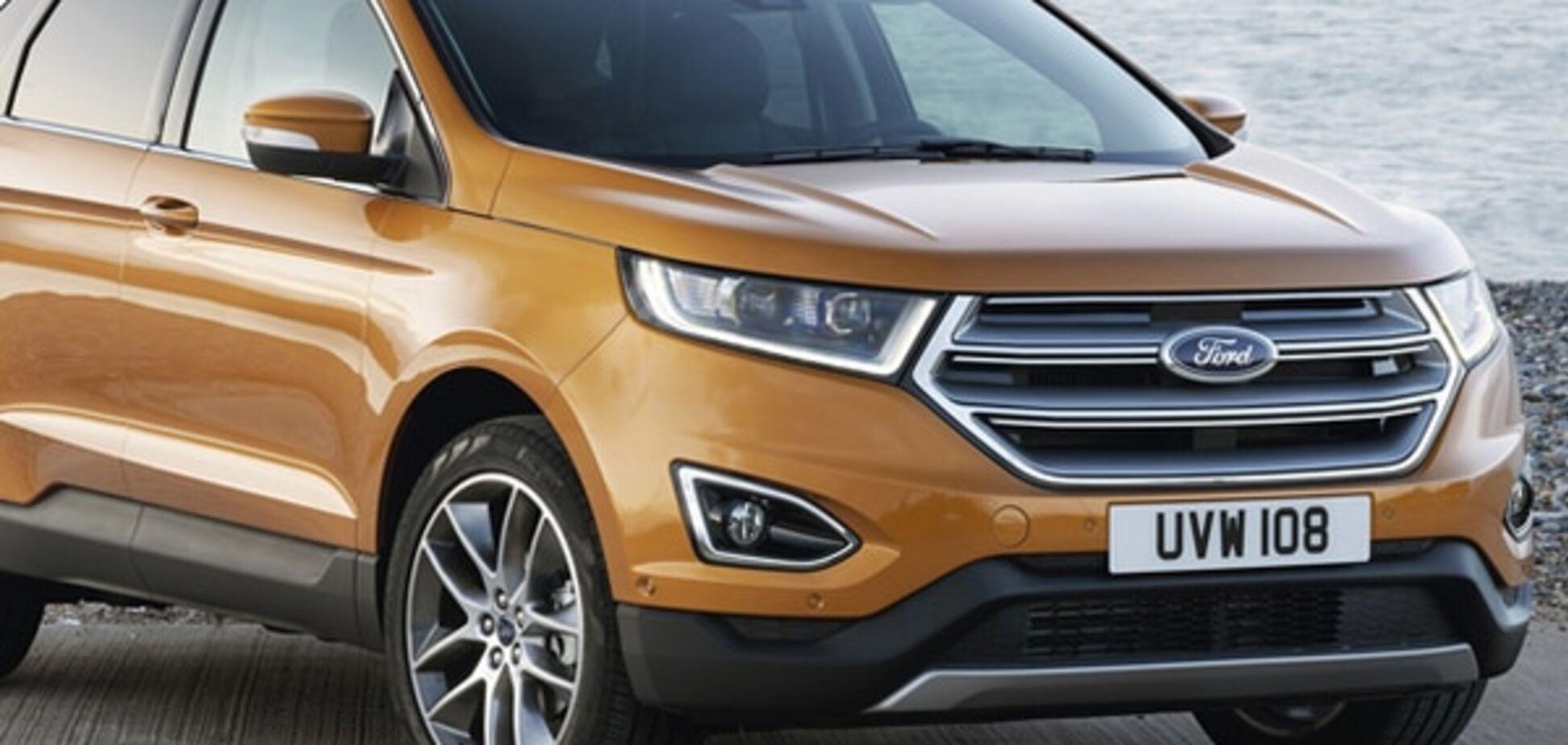 'Мощность и компактность'. Ford показал новинку Edge: фото модели