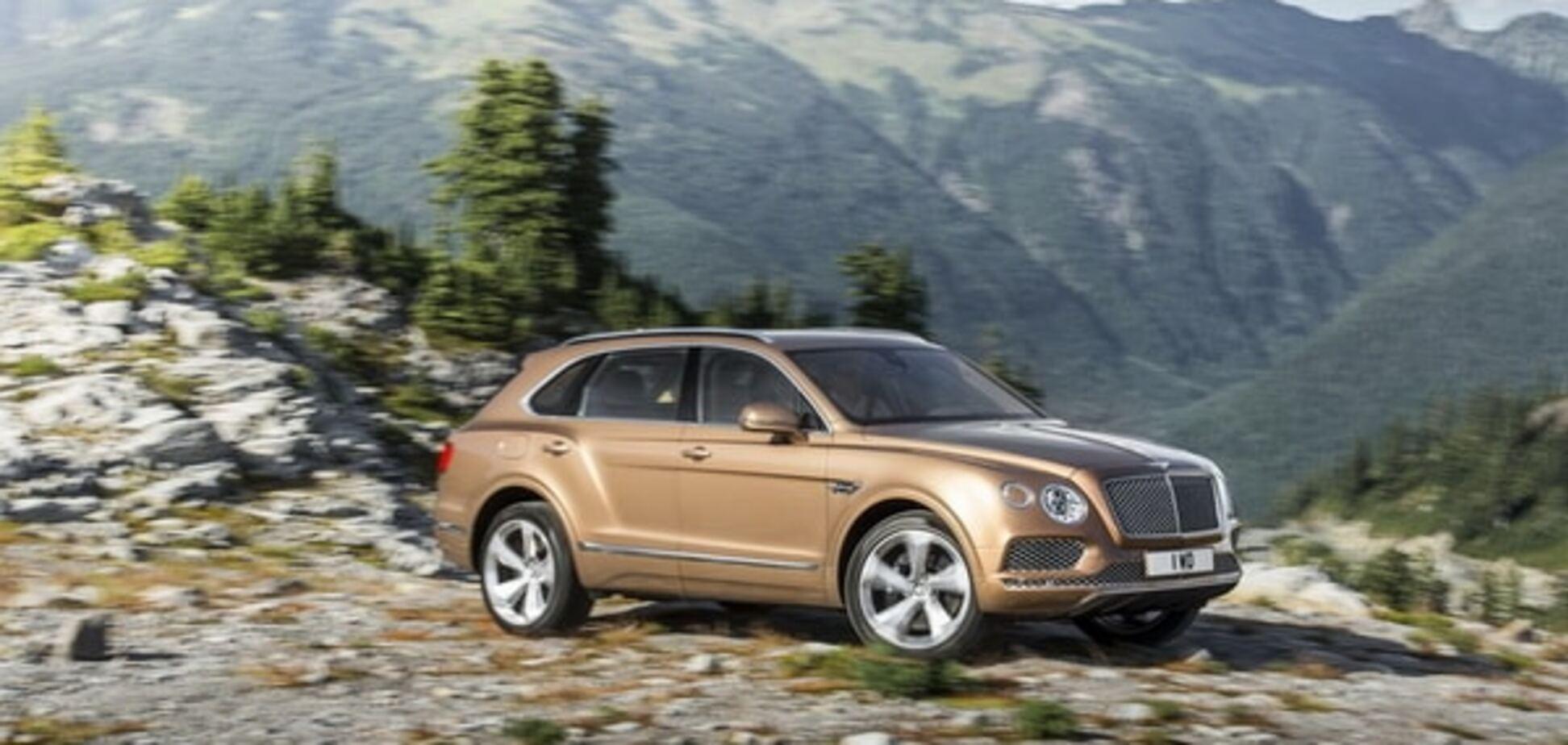 Bentley Bentayga стал самым дорогим внедорожником в мире