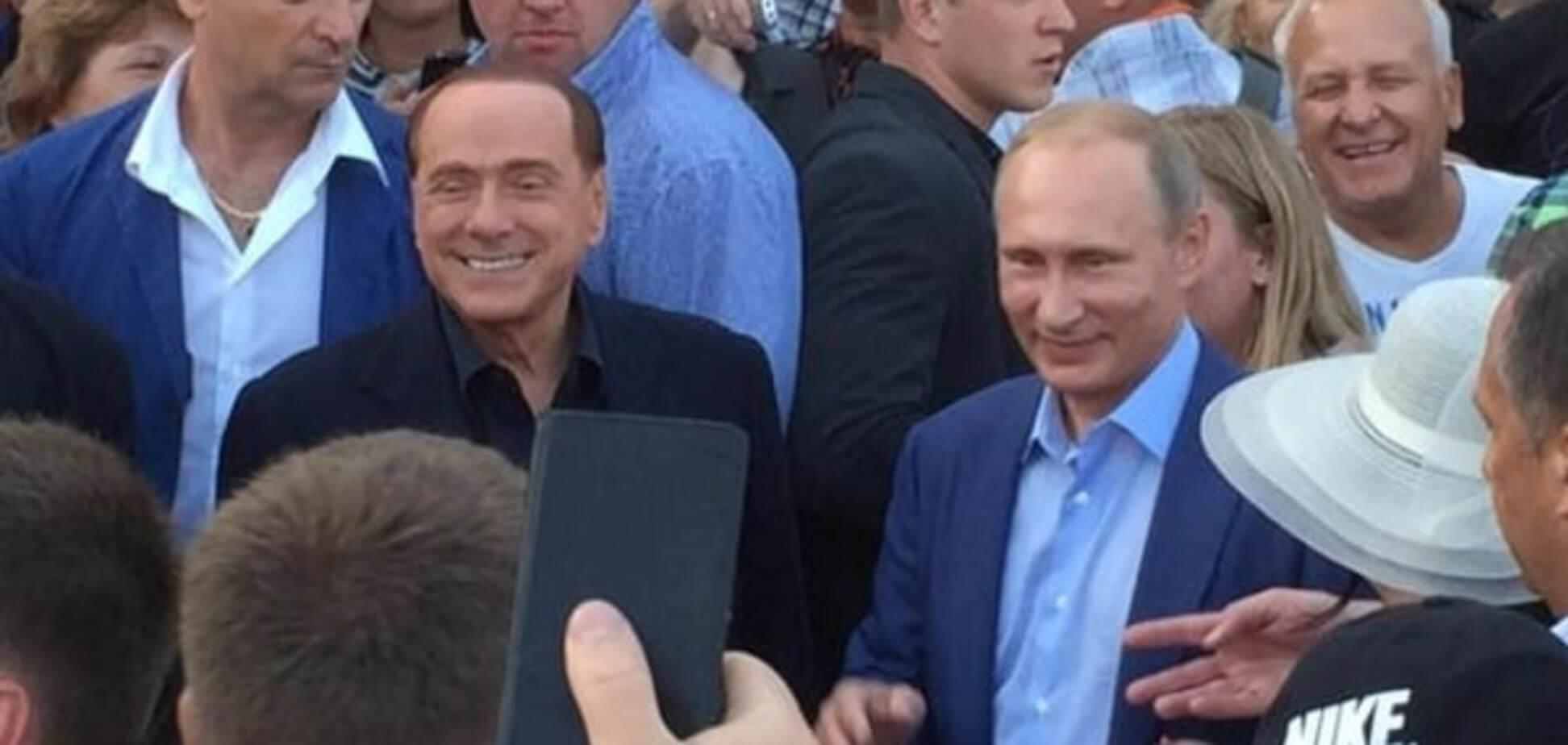 Берлусконі розповів, що йому показував 'екскурсовод' Путін в українському Криму