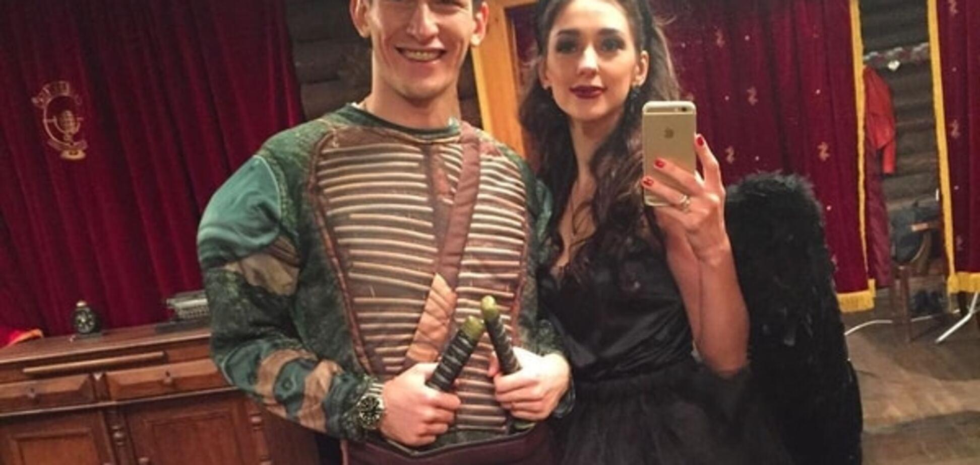Алладин и черепашка-ниндзя: футболисты 'Динамо' и 'Шахтера' повеселились на вечеринке