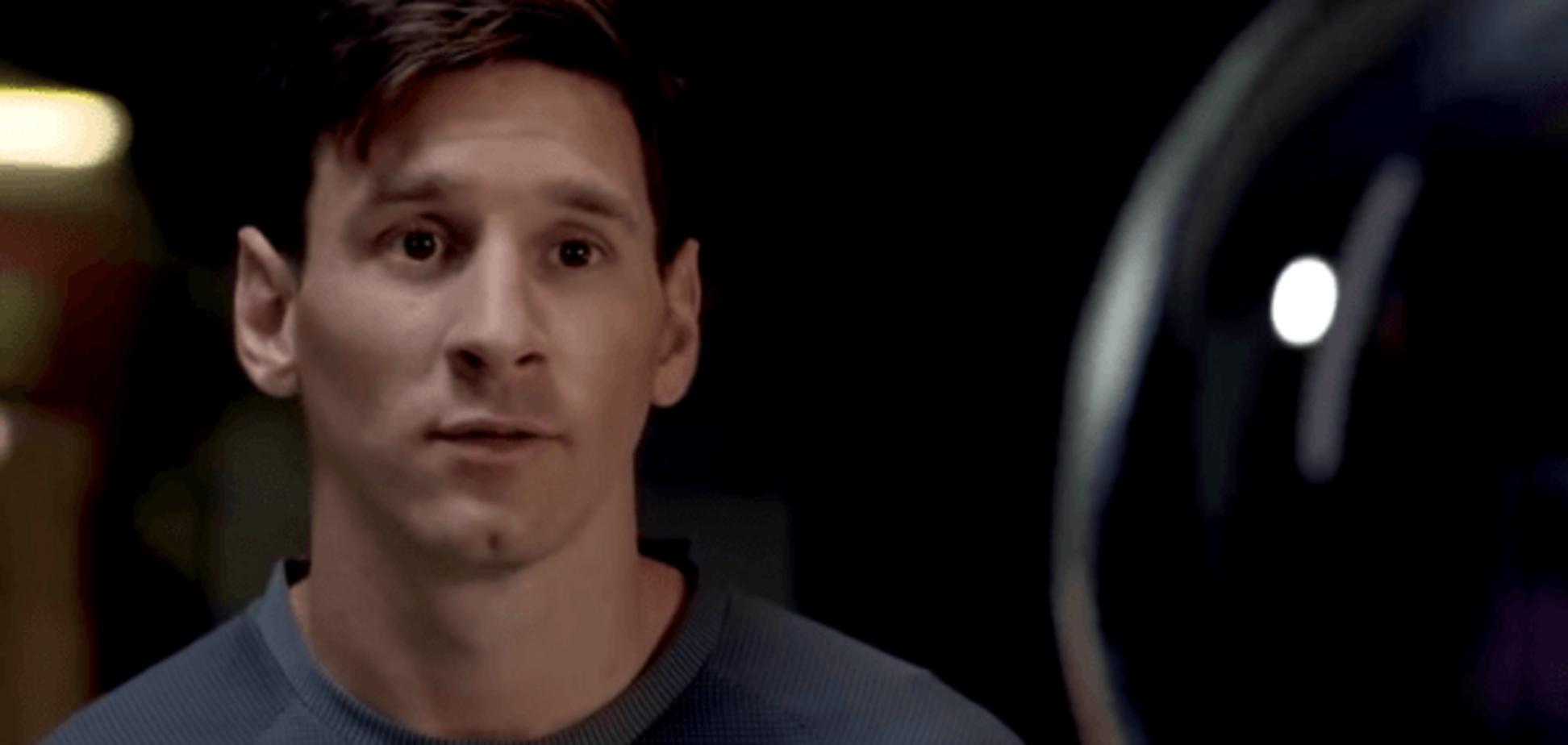 Шкарпетки і бульбашки: Мессі здивував фанатів дивною рекламою