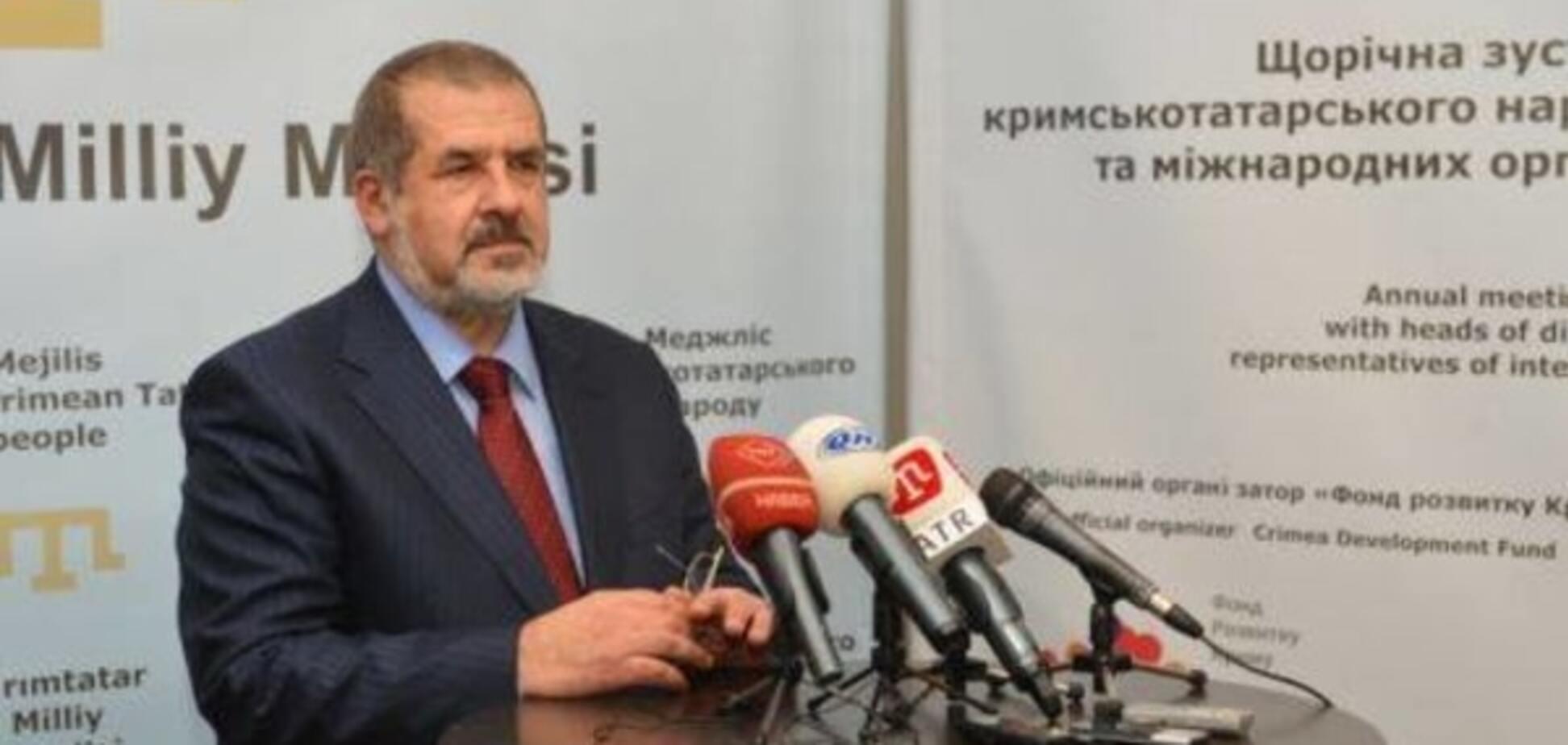 Чубаров назвал дату, когда будет блокирована админграница с Крымом