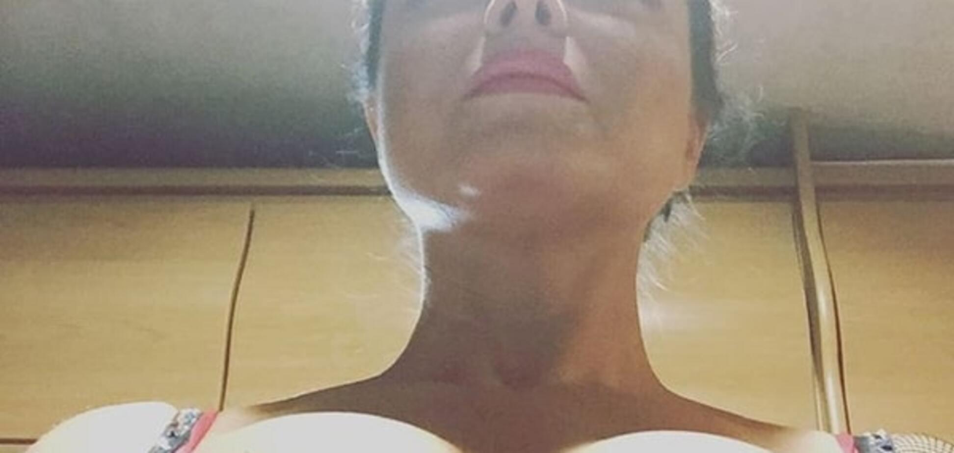 Наташа Королева заработала 'неплохие деньги' снимком своей обнаженной груди