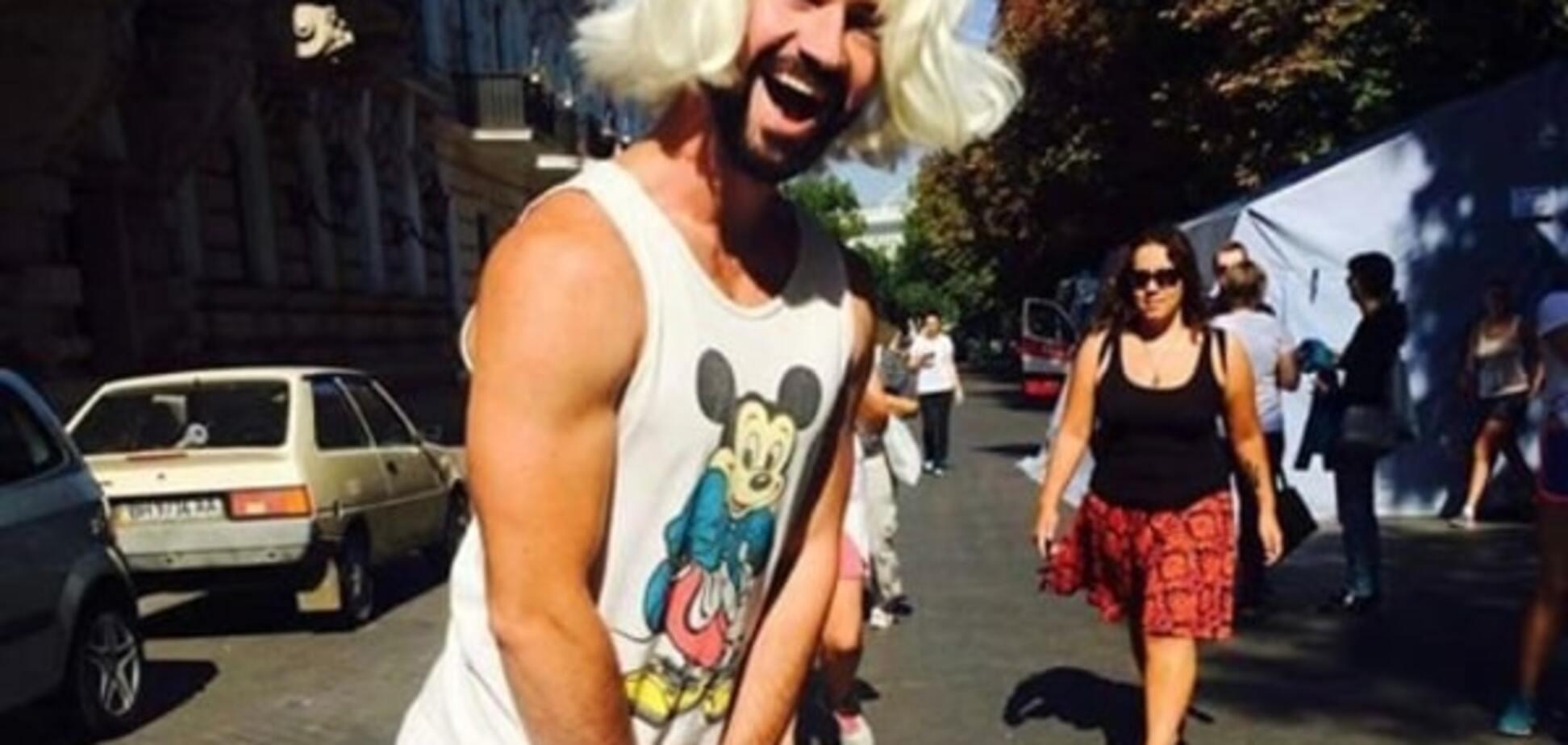 Кончита Вурст по-одесски: в массовом женском забеге заметили мужчину в юбке. Фотофакт