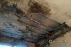 Плесень и грибок: фоторепортаж из казармы украинских десантников