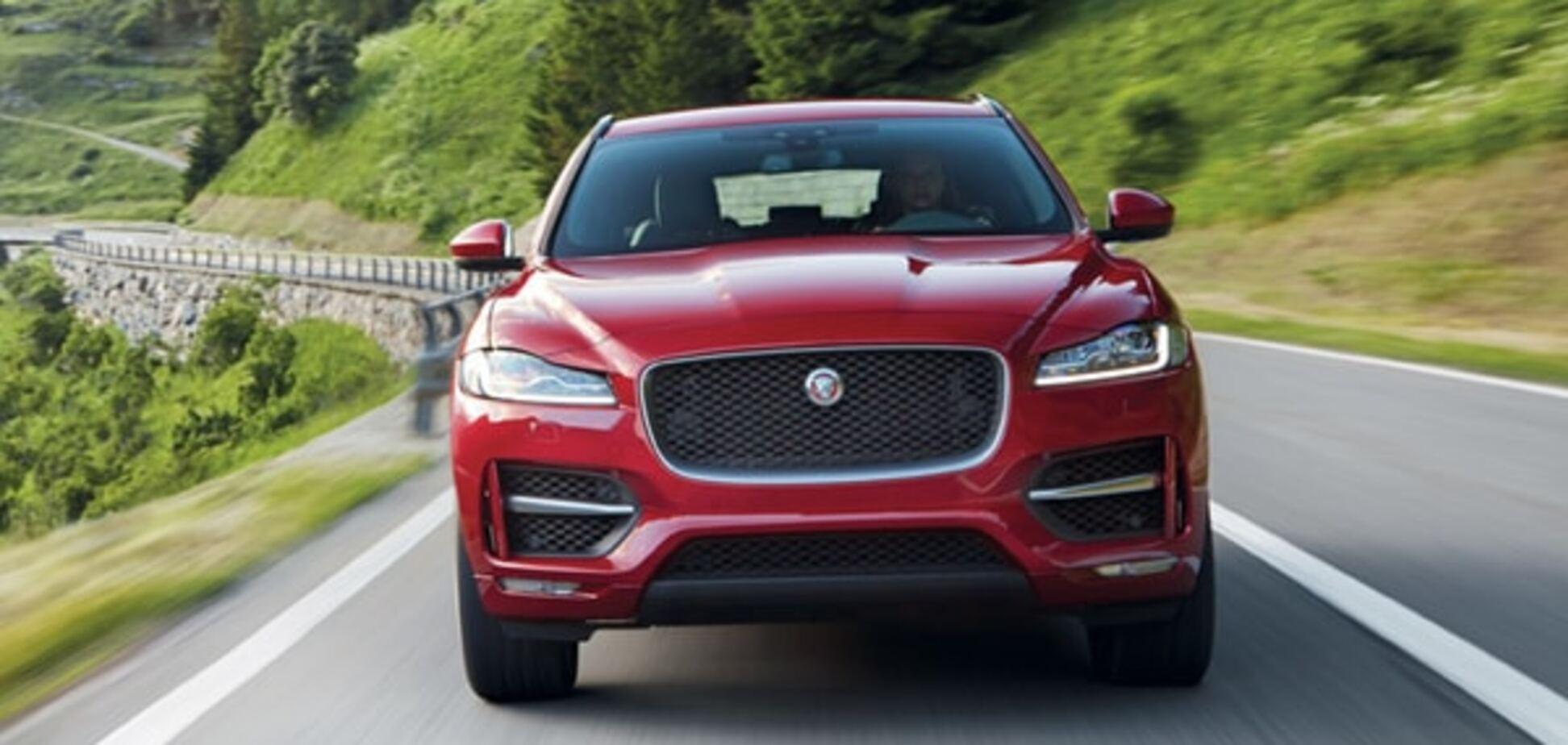 Франкфуртский автосалон: Jaguar презентовал 'развлекательный' внедорожник
