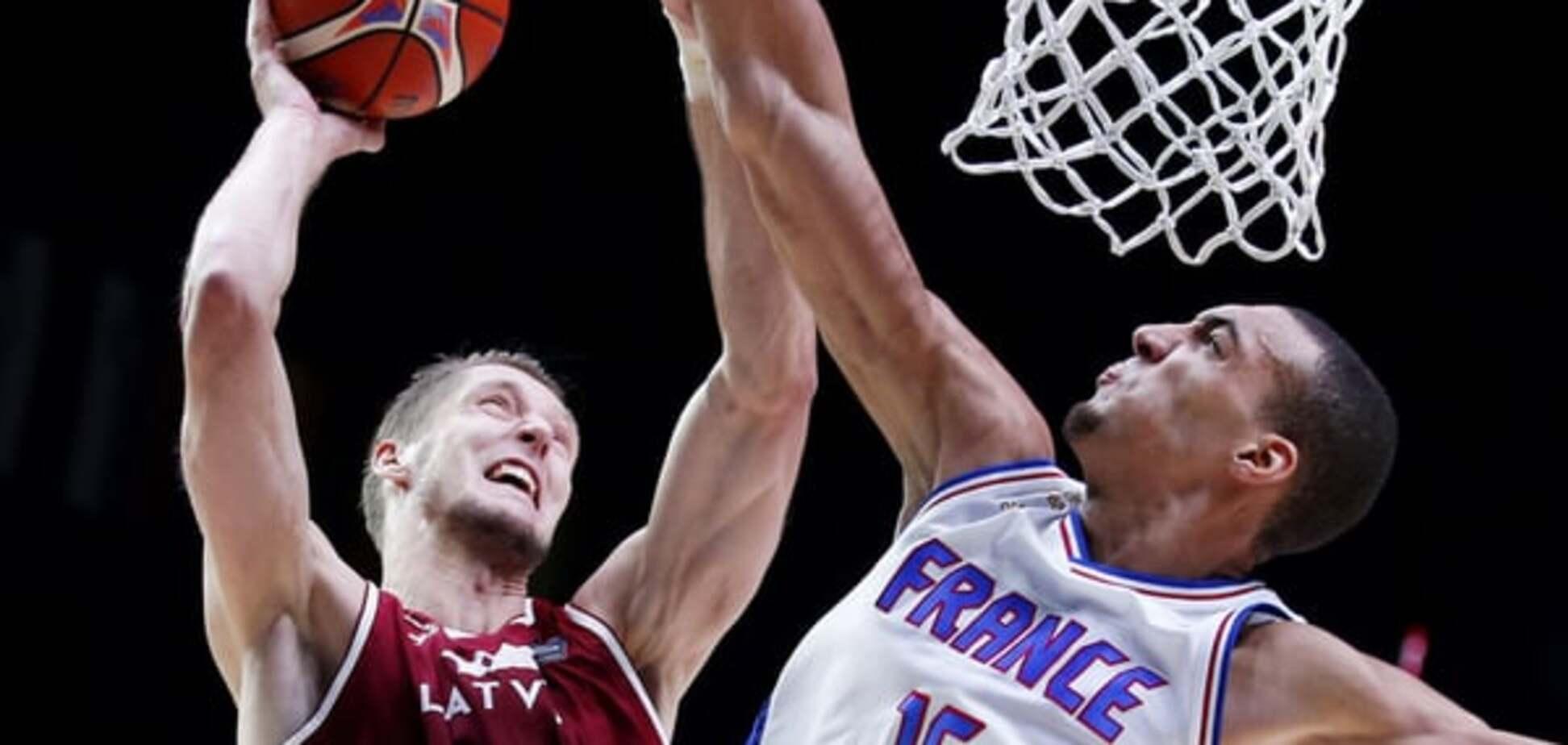 Евробаскет-2015. Франция без проблем обыграла Латвию