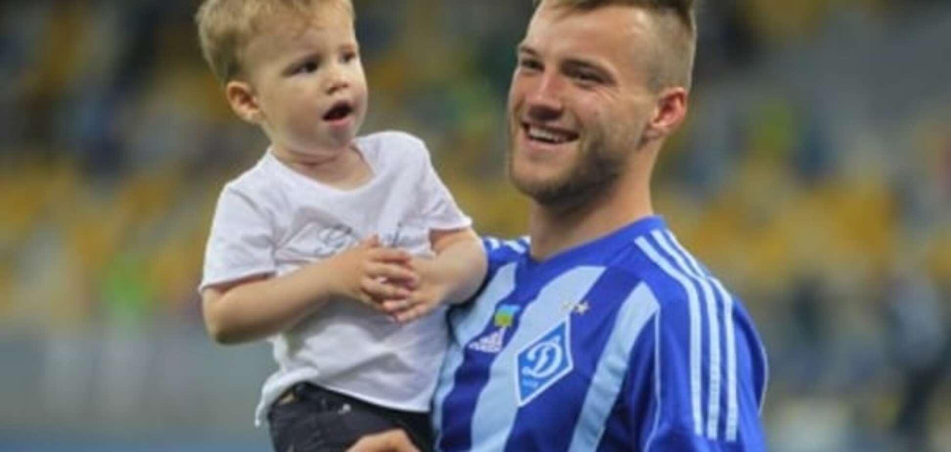 Ярмоленко назвал сына 'в честь' бразильского одноклубника