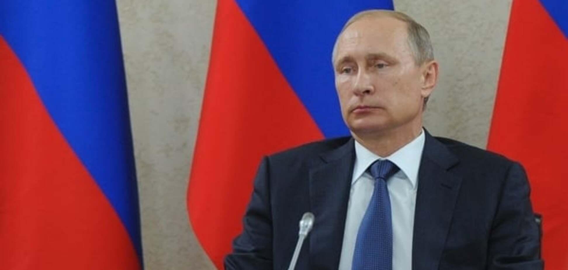 В соцсетях показали Путина, на котором можно уснуть: фотофакт