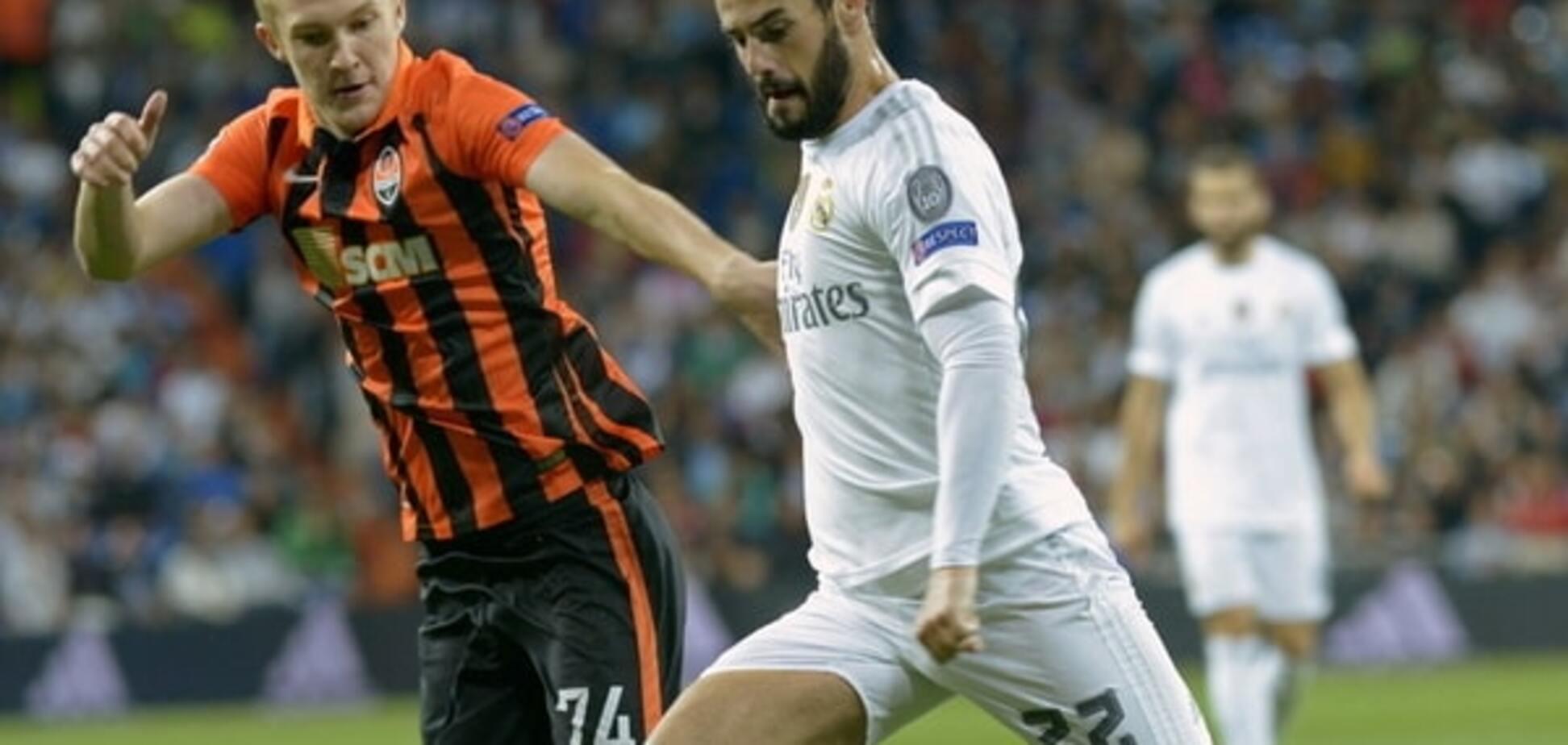 'Шахтер' благодаря судье разгромно проиграл 'Реалу' в Лиге чемпионов