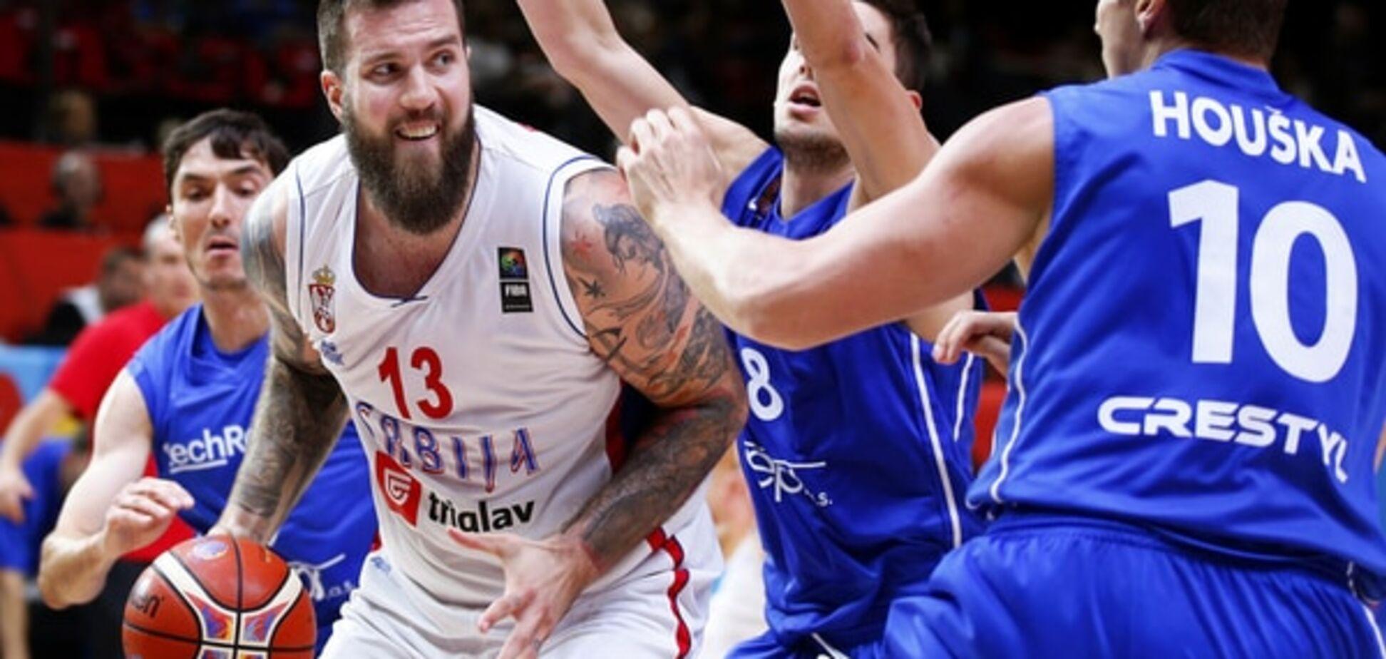 Евробаскет-2015. Сербия не пустила Чехию в полуфинал