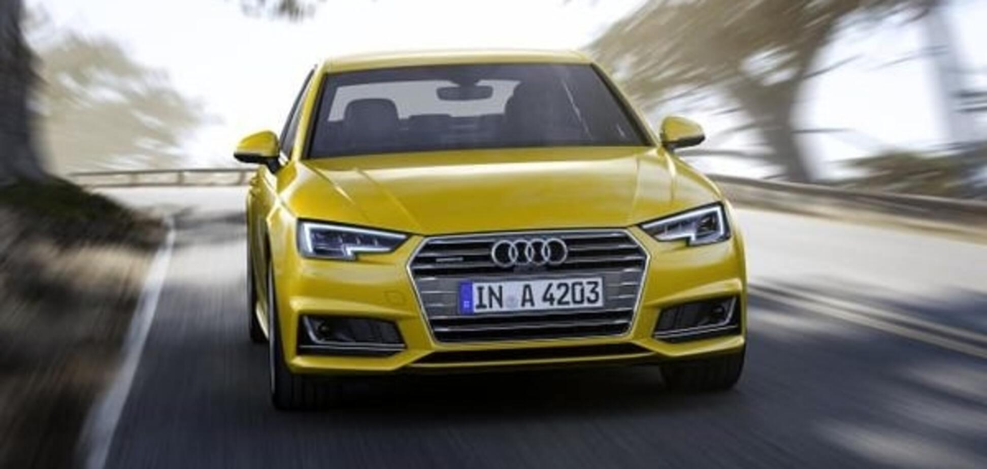 Франкфуртский автосалон: Audi представил А4 пятого поколения