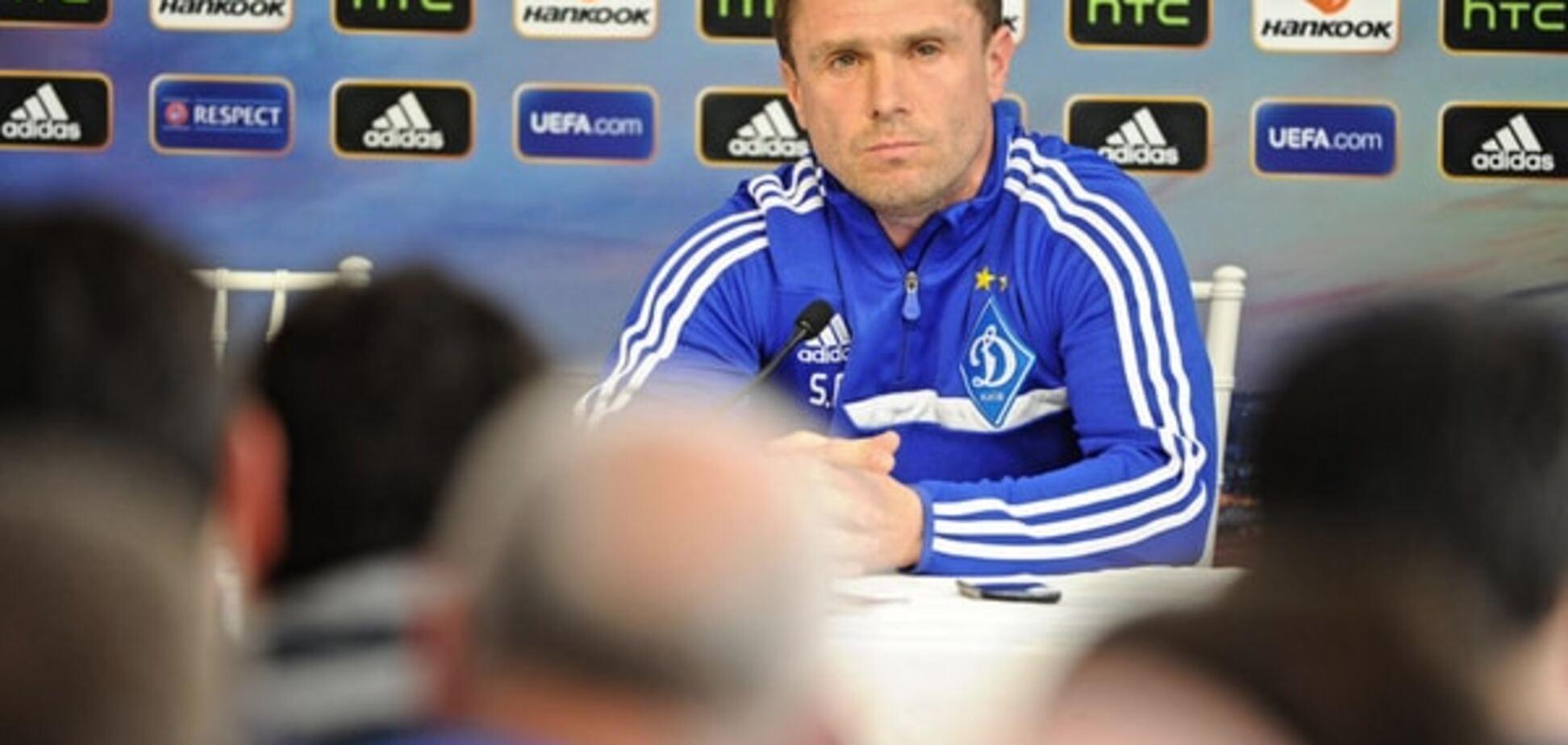 Ребров назвал нового лидера 'Динамо'