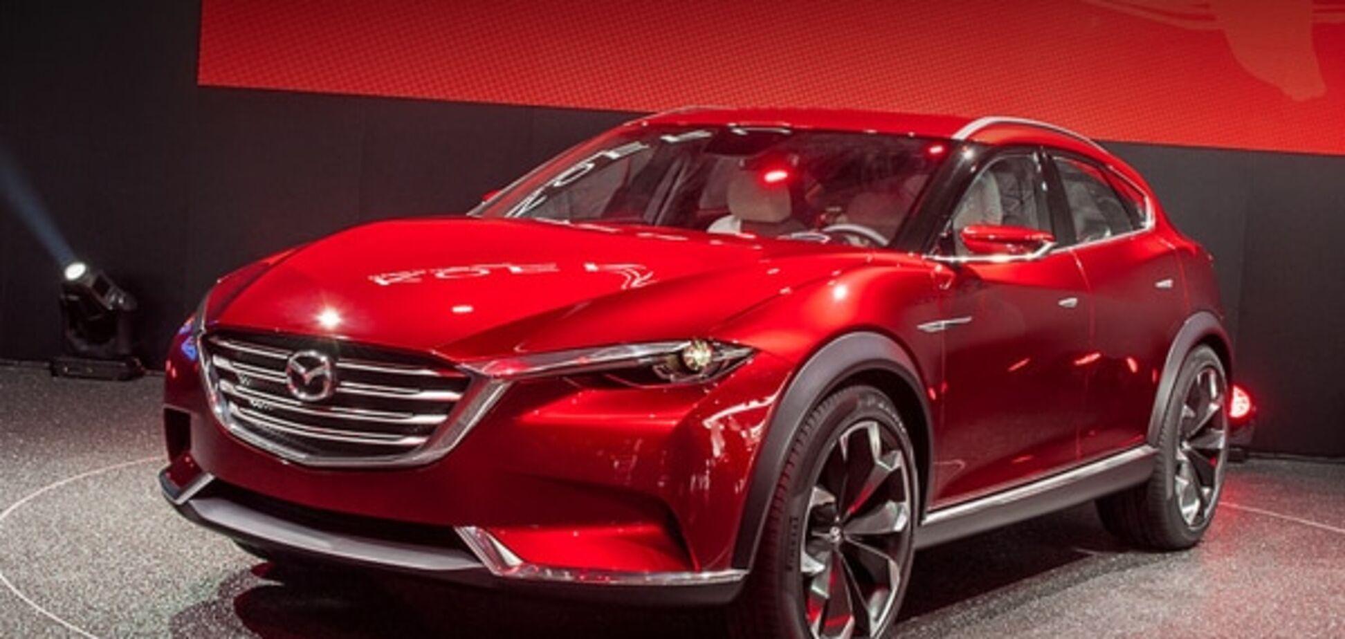 Франкфуртский автосалон: будущую Mazda CX-7 показали в виде концепта