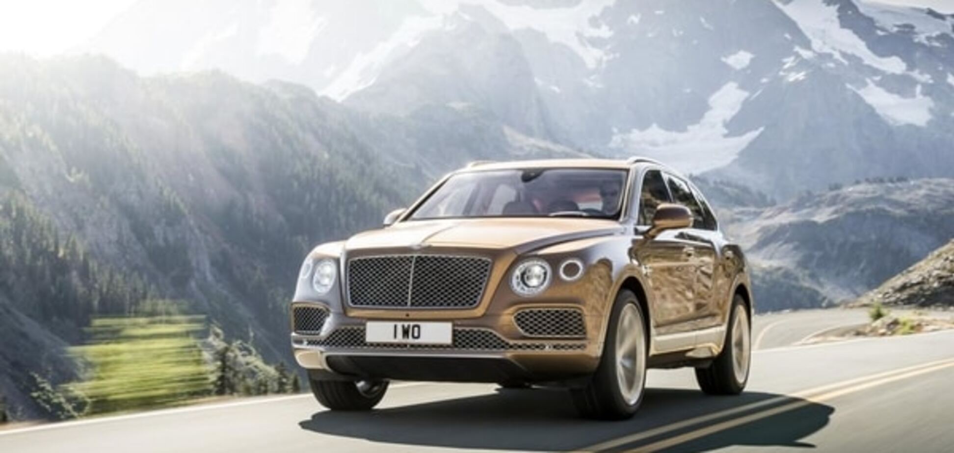 Королева Англии первой получит новый роскошный Bentley