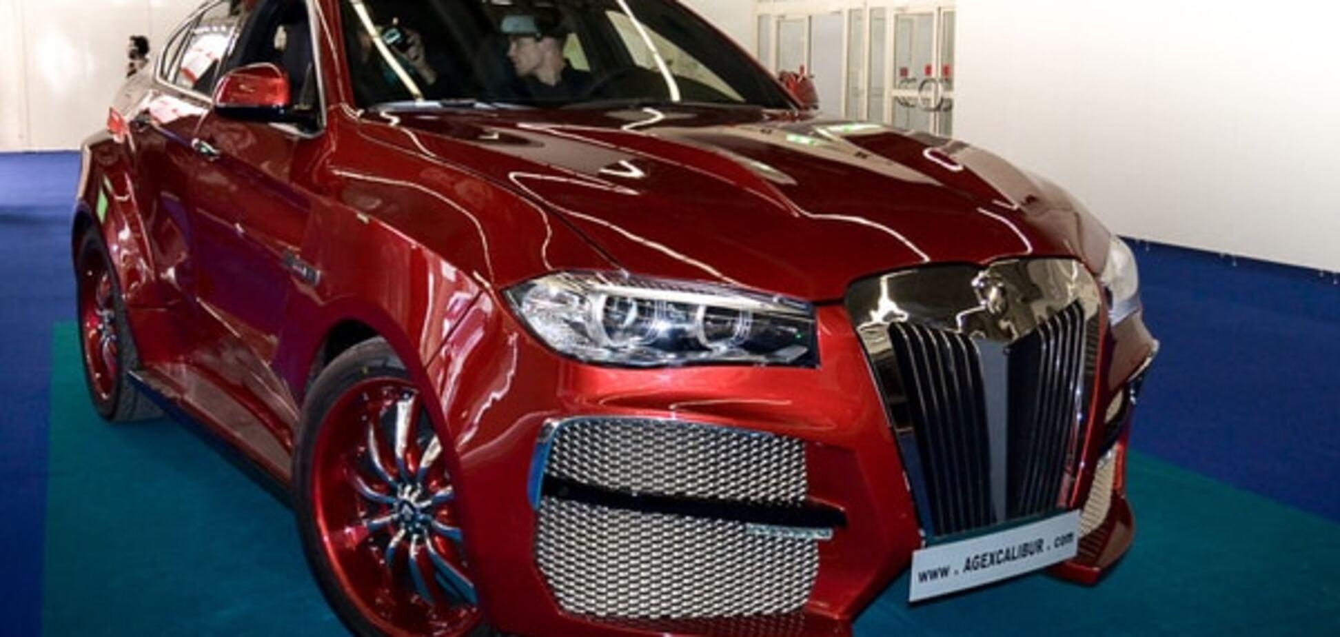Франкфуртський автосалон: 'страхітливий монстр' X6 Alligator від BMW