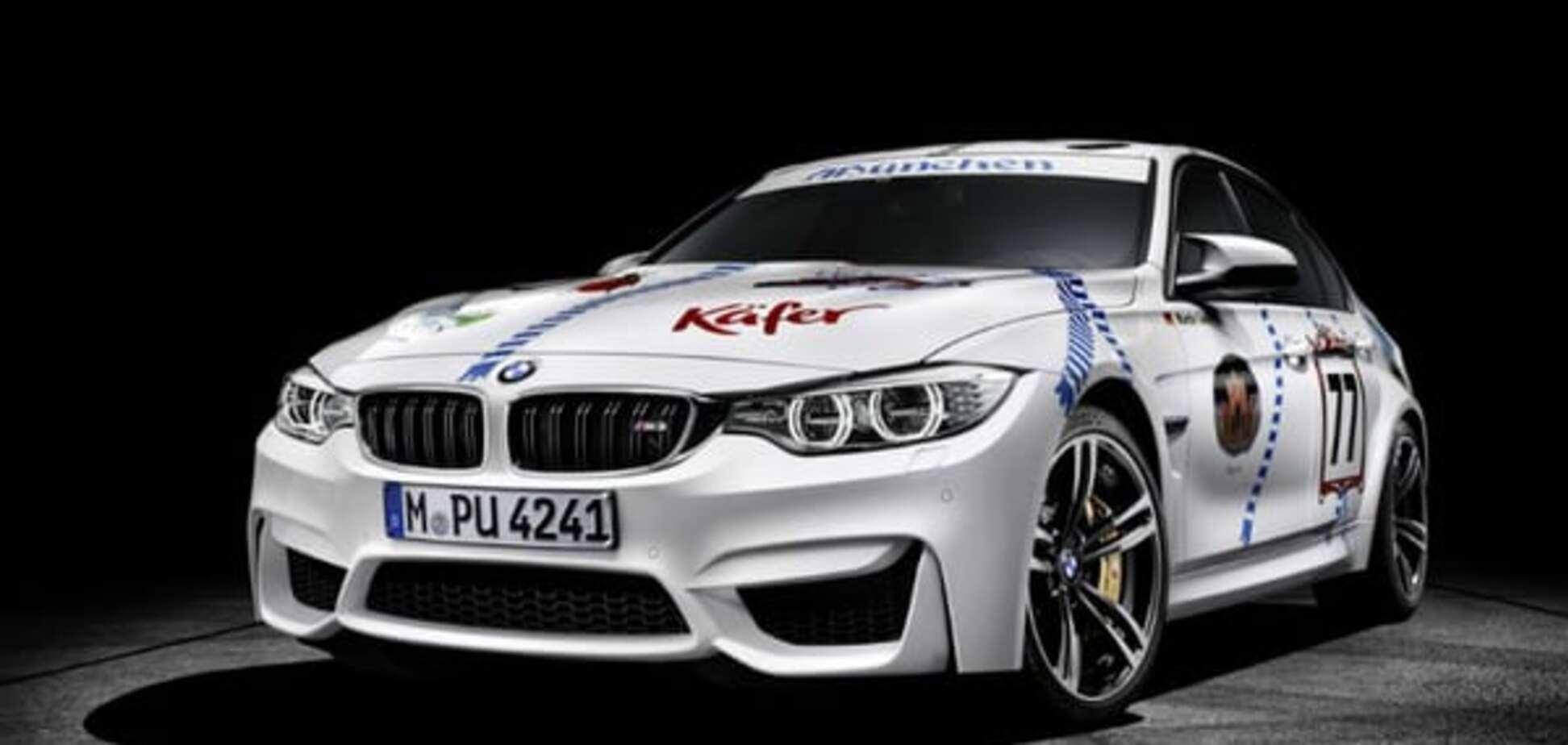 BMW презентувала 'пивний' автомобіль під Октоберфест