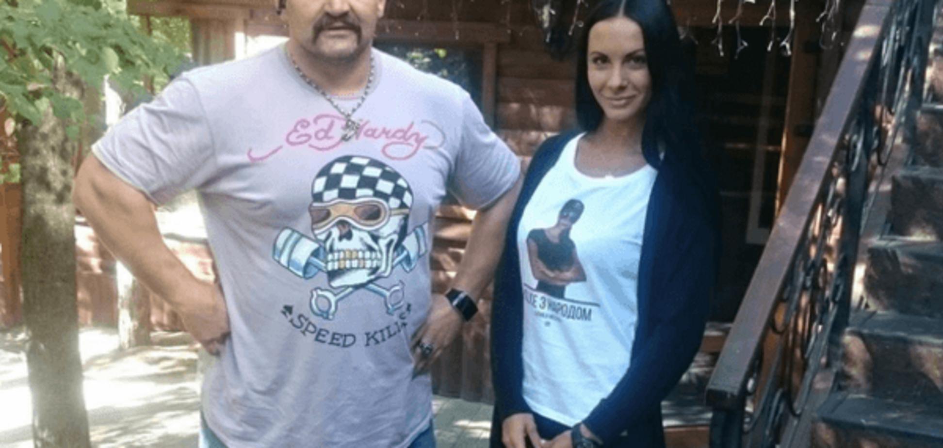 Красотка-коп Милевич подружилась с сильнейшим человеком Украины