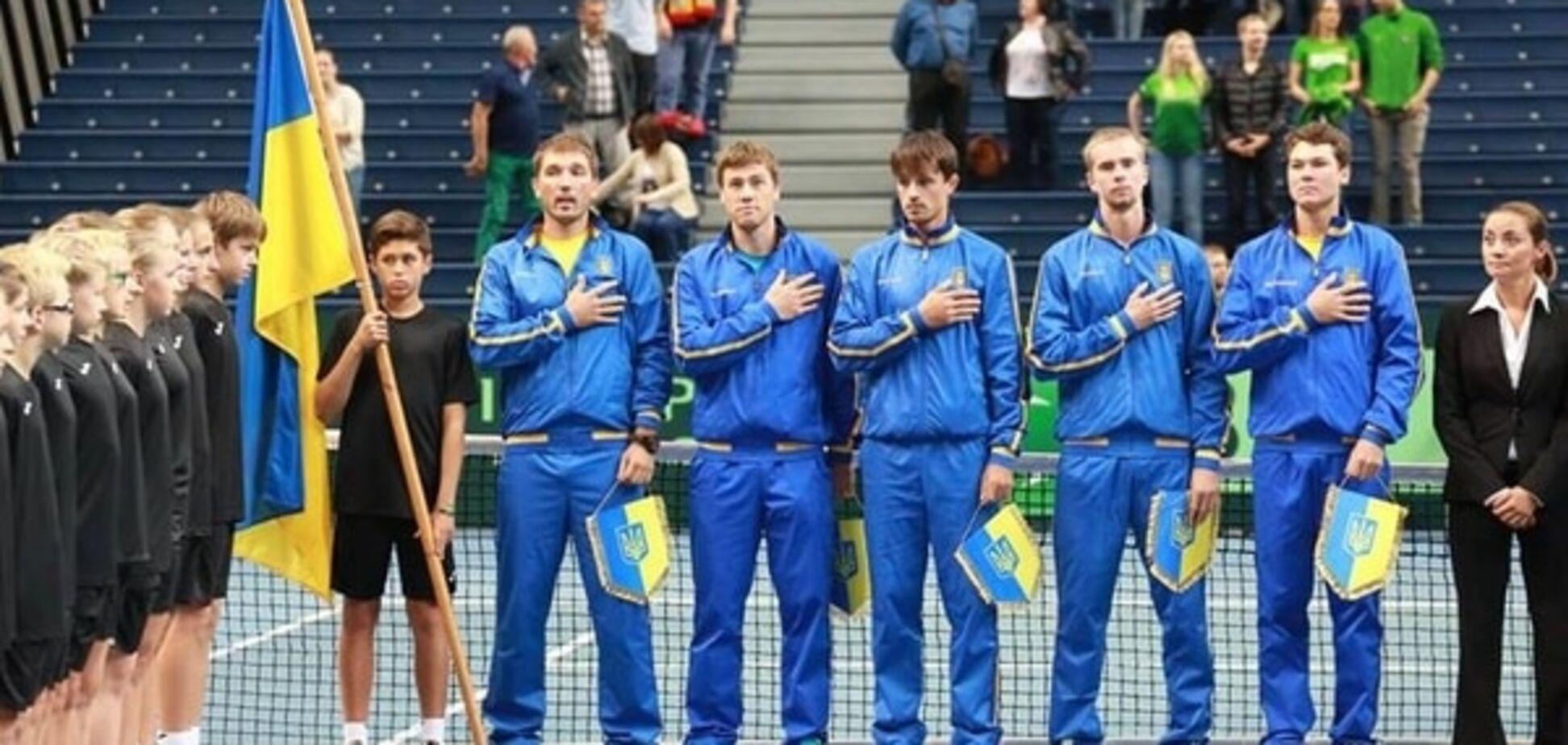 Украина с ничьи стартовала на Кубке Дэвиса