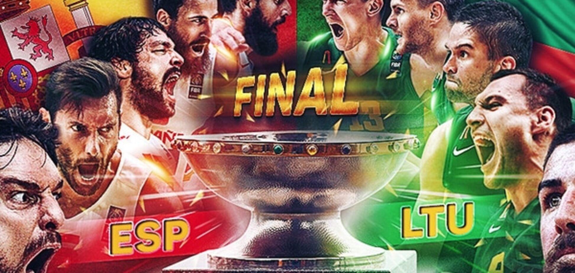 Испания - Литва - 80-63: хронология финального матча Евробаскета-2015