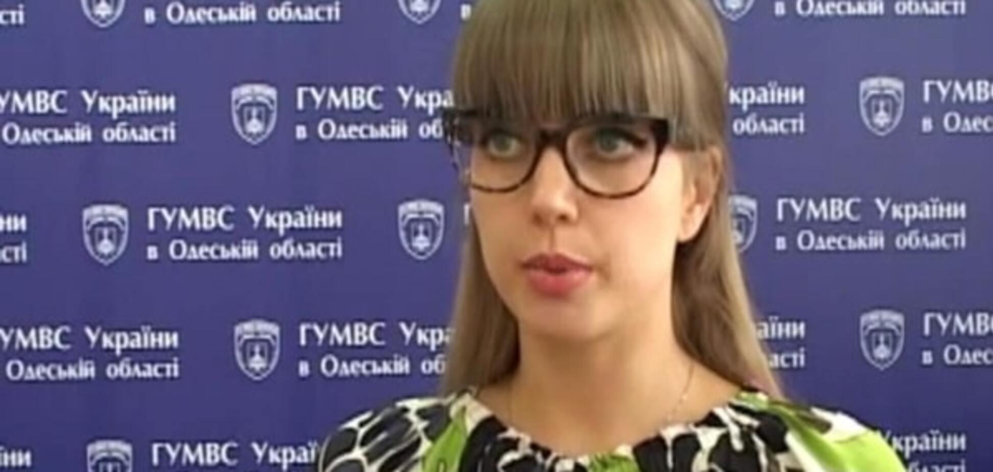 Луганчанка-фотомодель стала пресс-секретарем одесской милиции: фотофакт
