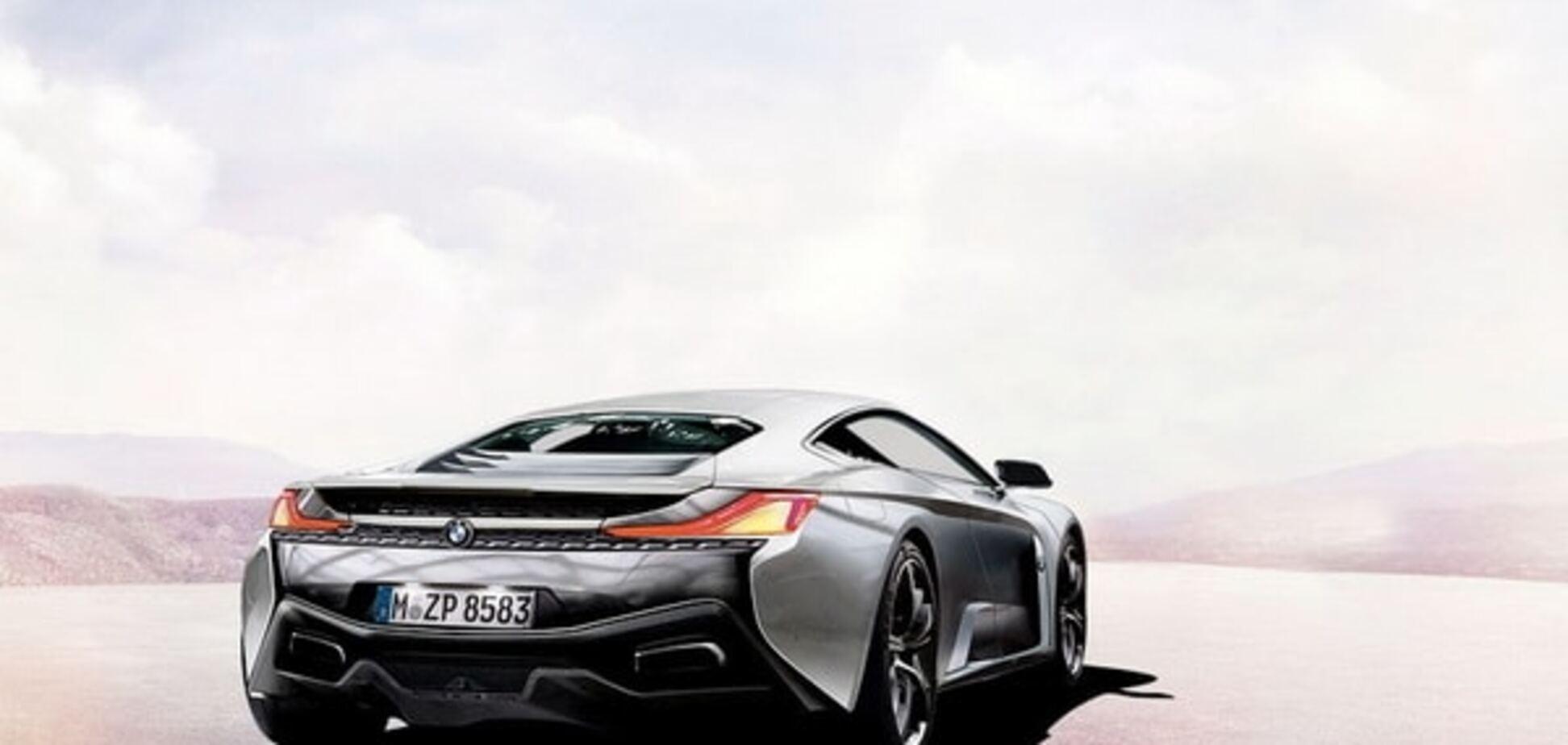 BMW і McLaren випустять суперкар: фото моделі