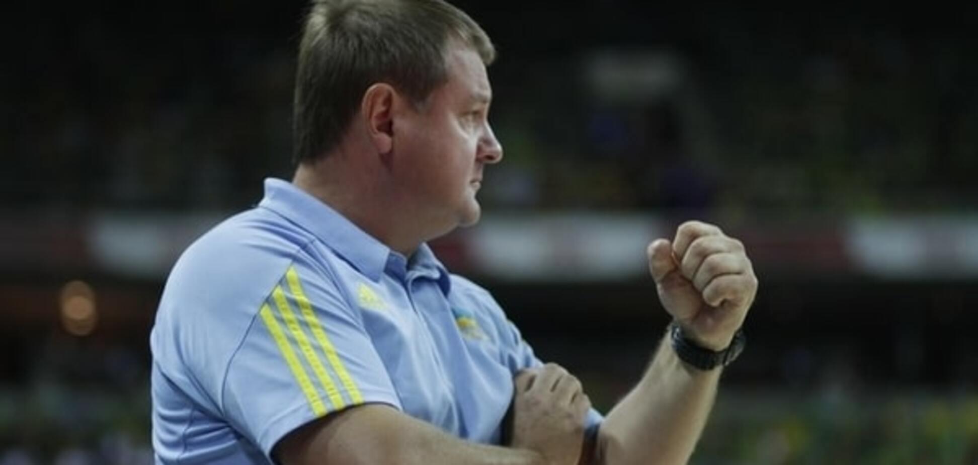 Мурзин: сборной Украины не хватило на Евробаскете одного лидера