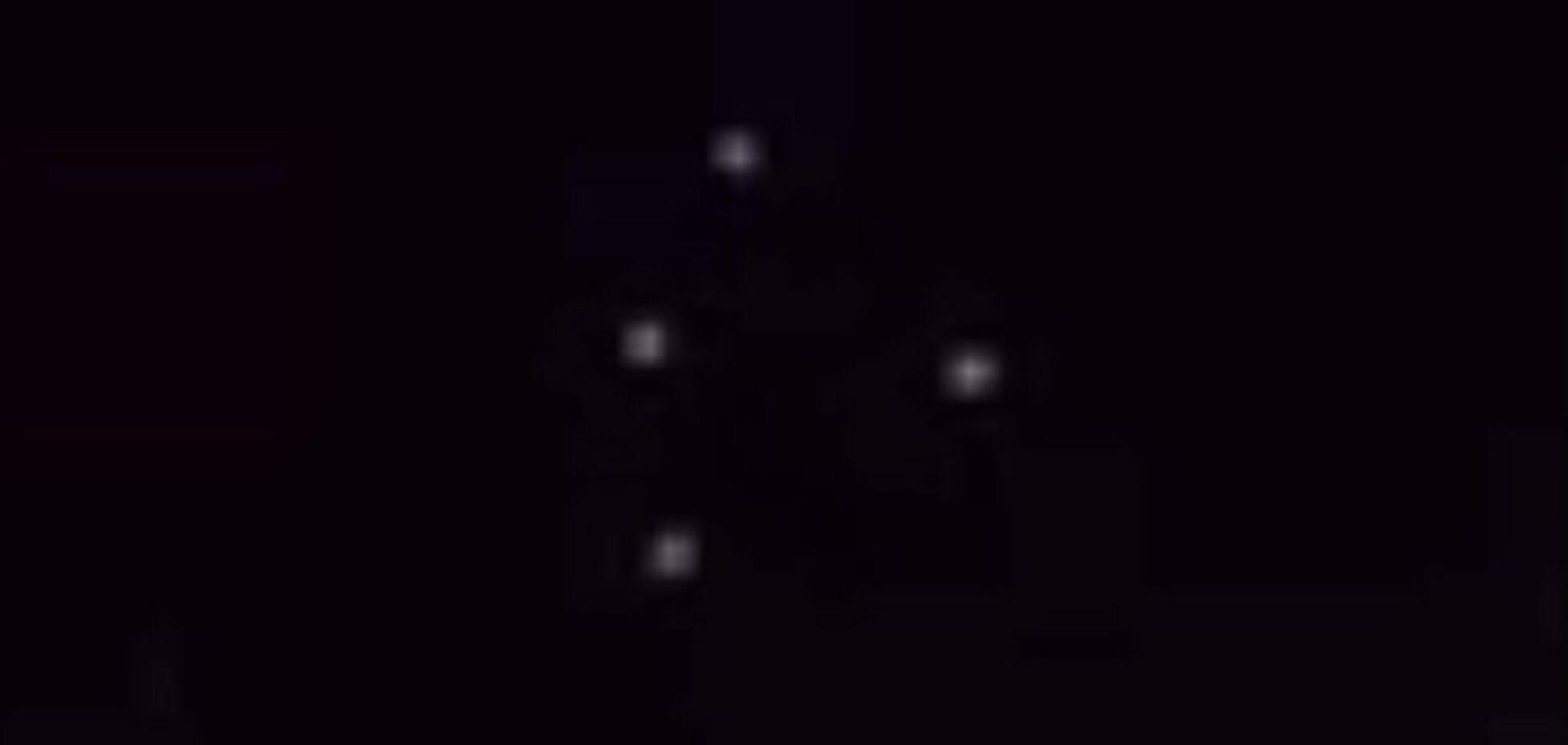 В небе над США засняли мифический черный треугольник: видеофакт
