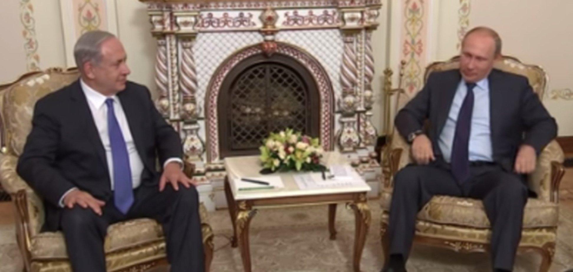 Путин взорвал соцсети 'нервными ножками' на встрече с премьером Израиля: видеофакт
