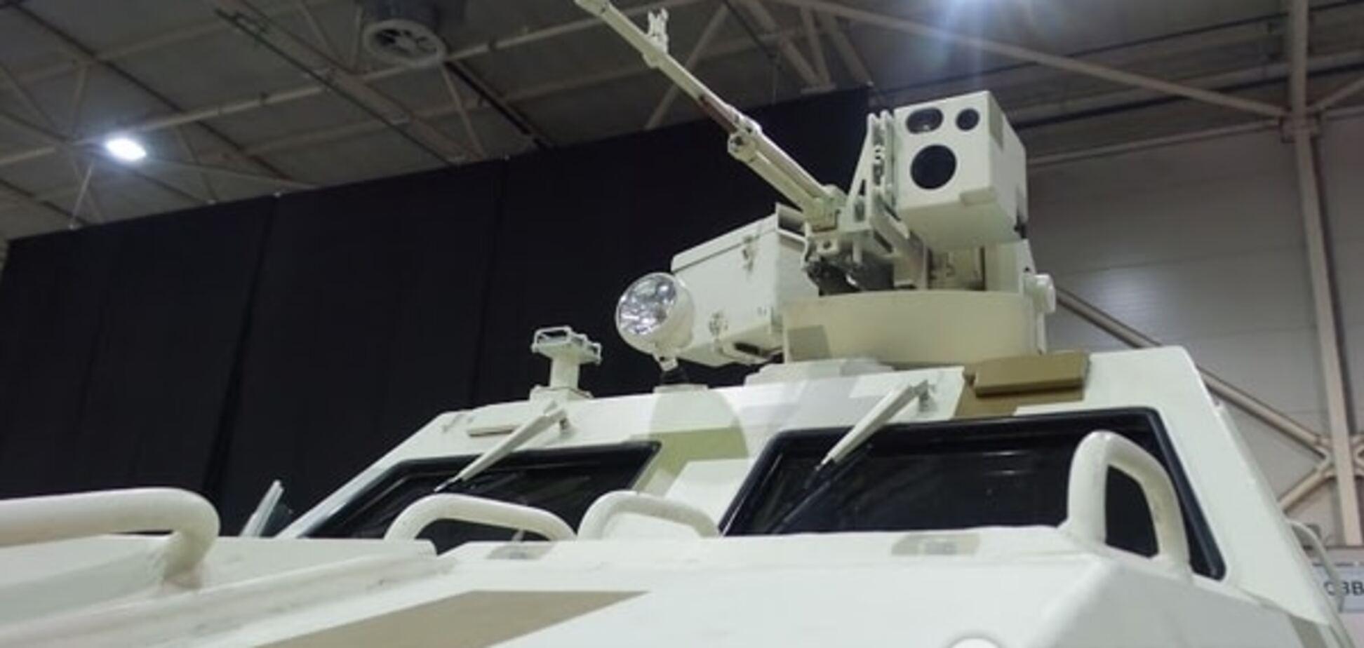 В Киеве на выставке 'Оружие и безопасность' показали 'Овод', 'Варан' и 'Форт 224': опубликованы фото