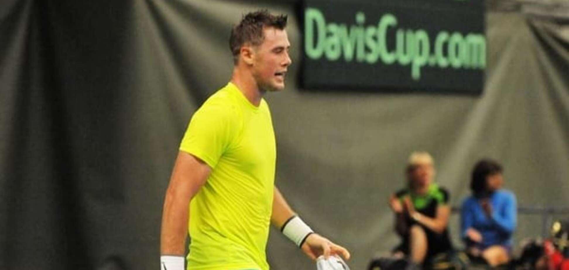 'Говорили гадости на русском'. Украинского теннисиста вывели из себя в Литве