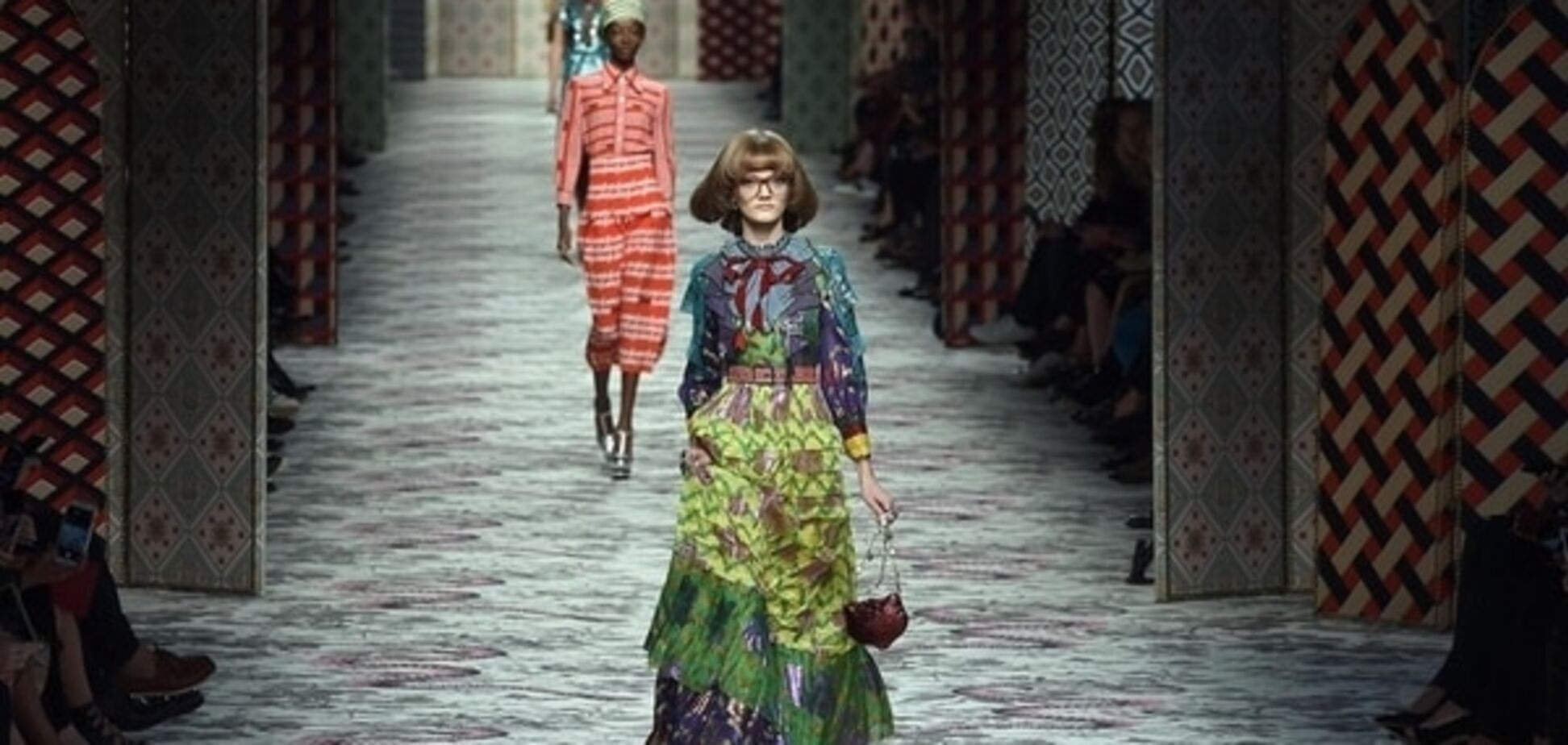 Зов джунглей: яркий показ Gucci на Неделе моды в Милане