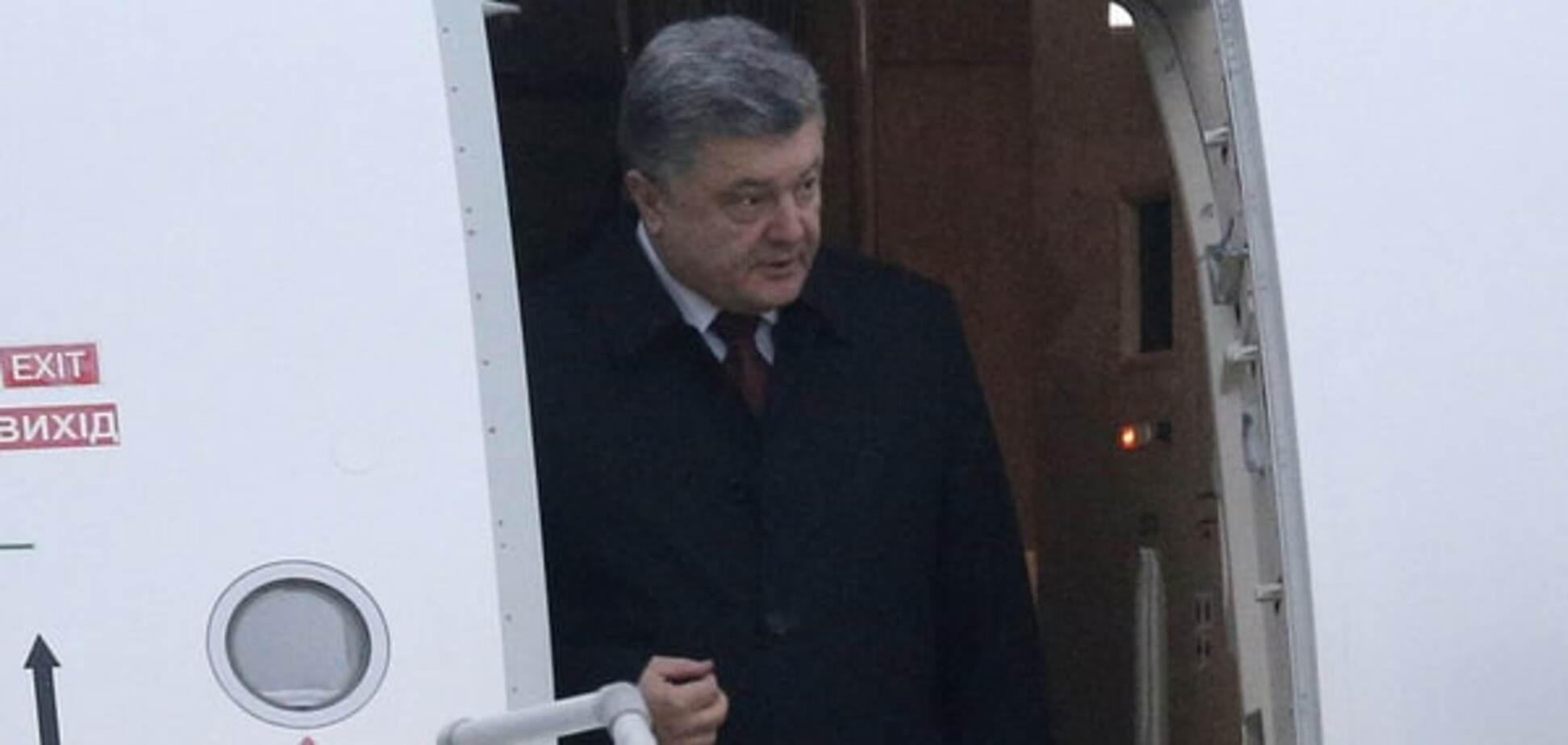 Російські ЗМІ поширили фейк про 'п'яного Порошенка, який ломився до Путіна'