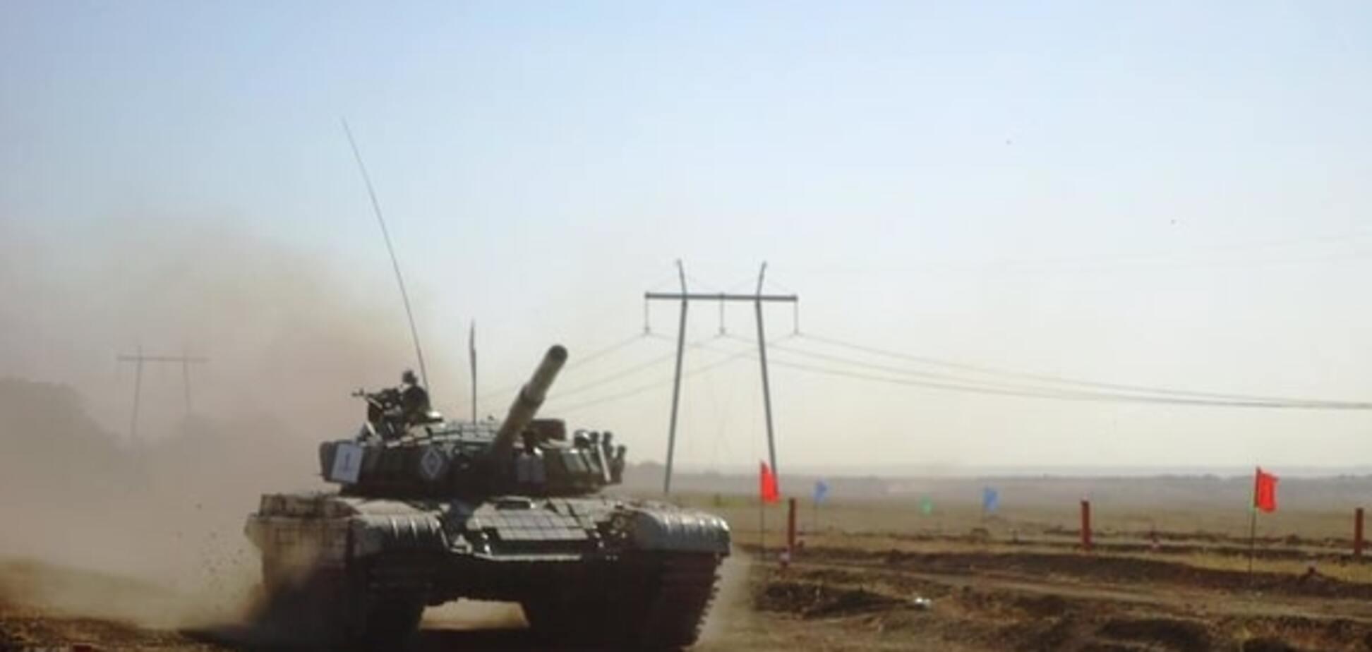 На 'танковому біатлоні' в 'ДНР' загинула дочка одного з ватажків терористів - ЗМІ